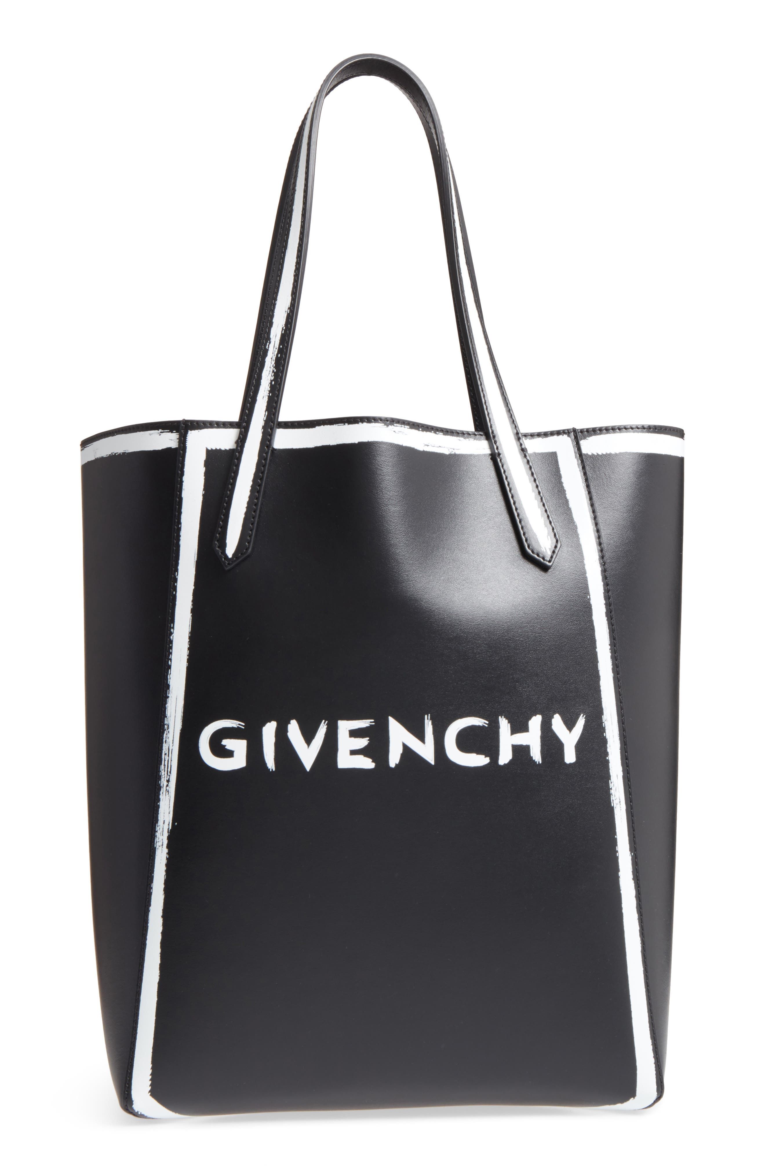 Givenchy Stargate Graffiti Calfskin Leather Tote