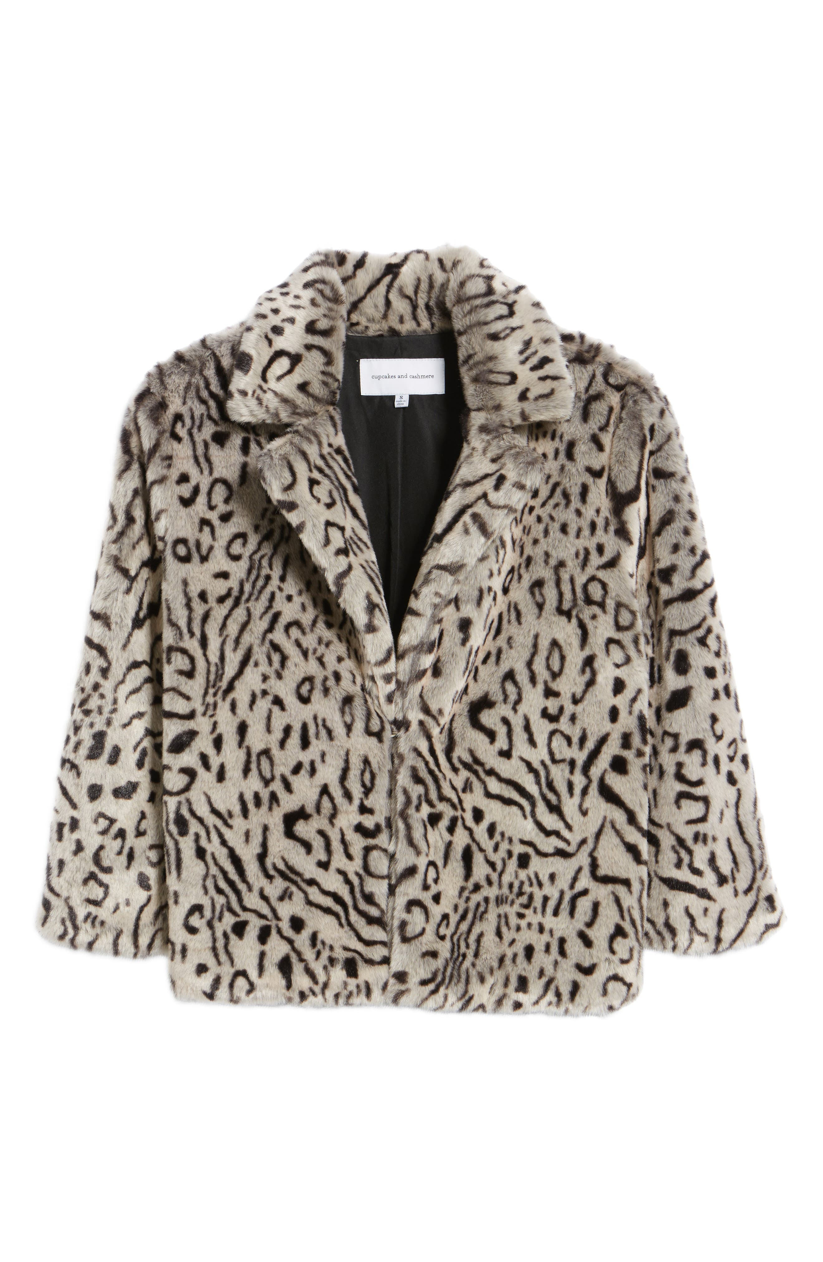 Alternate Image 6  - cupcakes and cashmere Belle Faux Fur Jacket