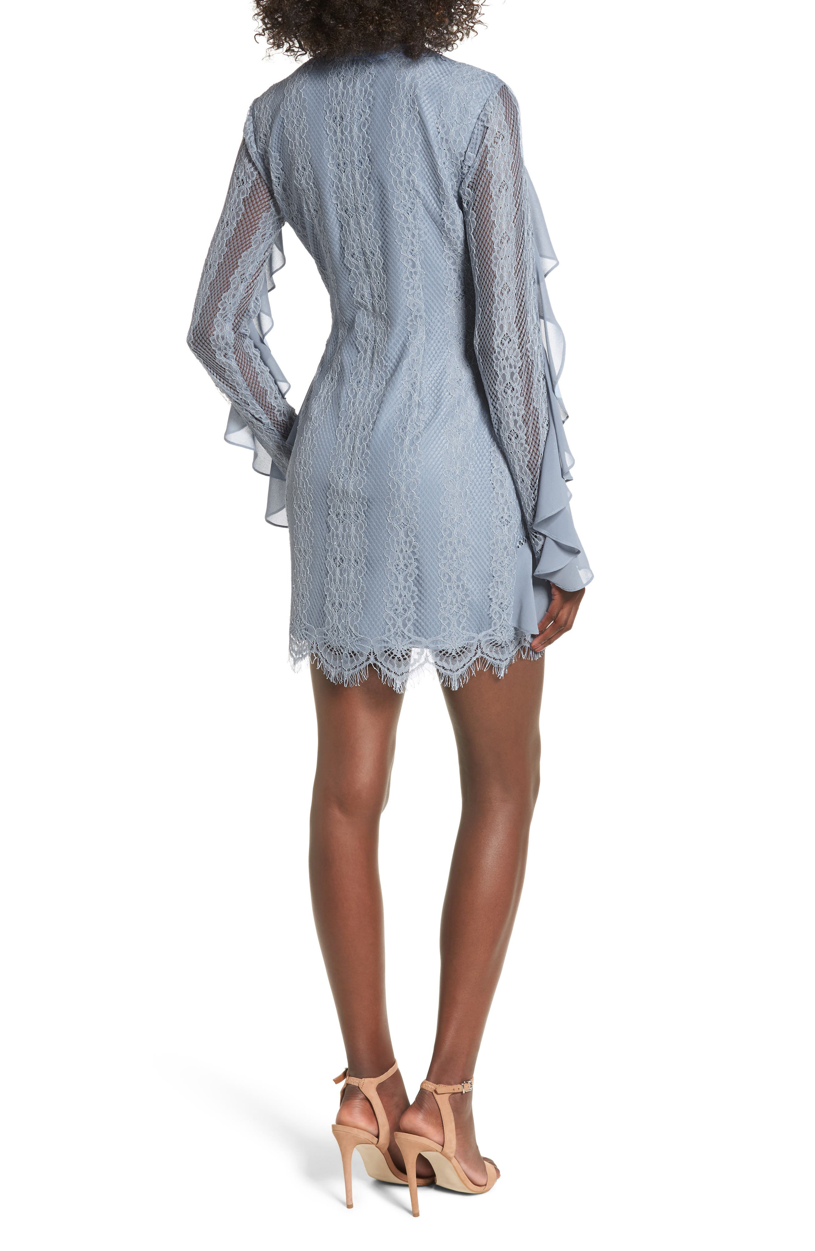Alternate Image 3  - Keepsake the Label Better Days Lace Minidress