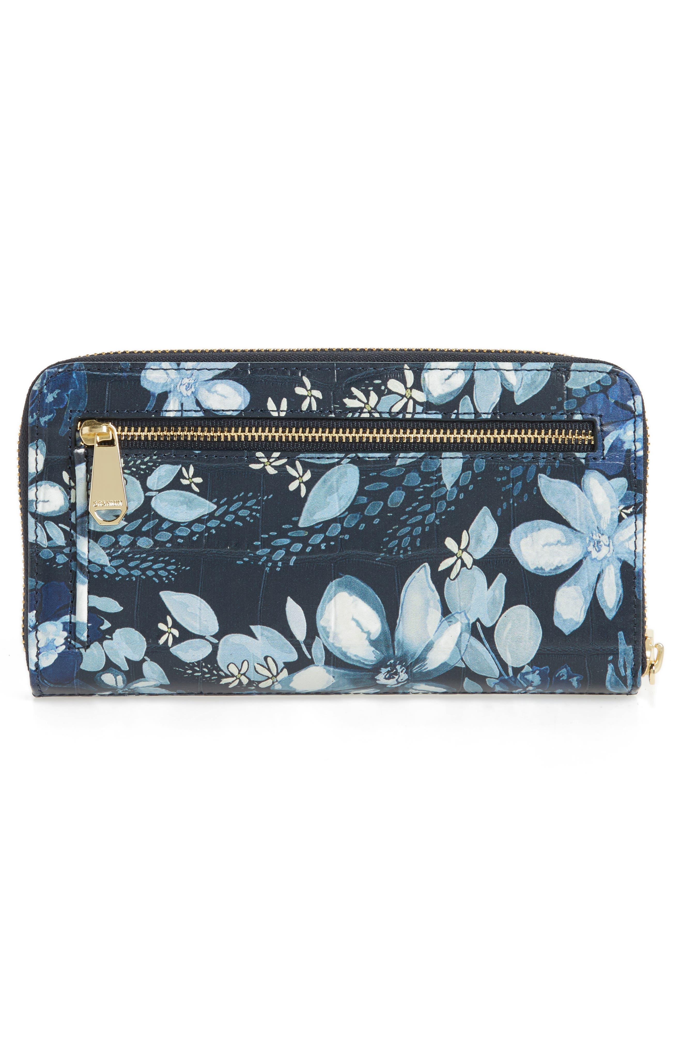 Alternate Image 3  - Brahmin Suri Leather Zip Around Wallet