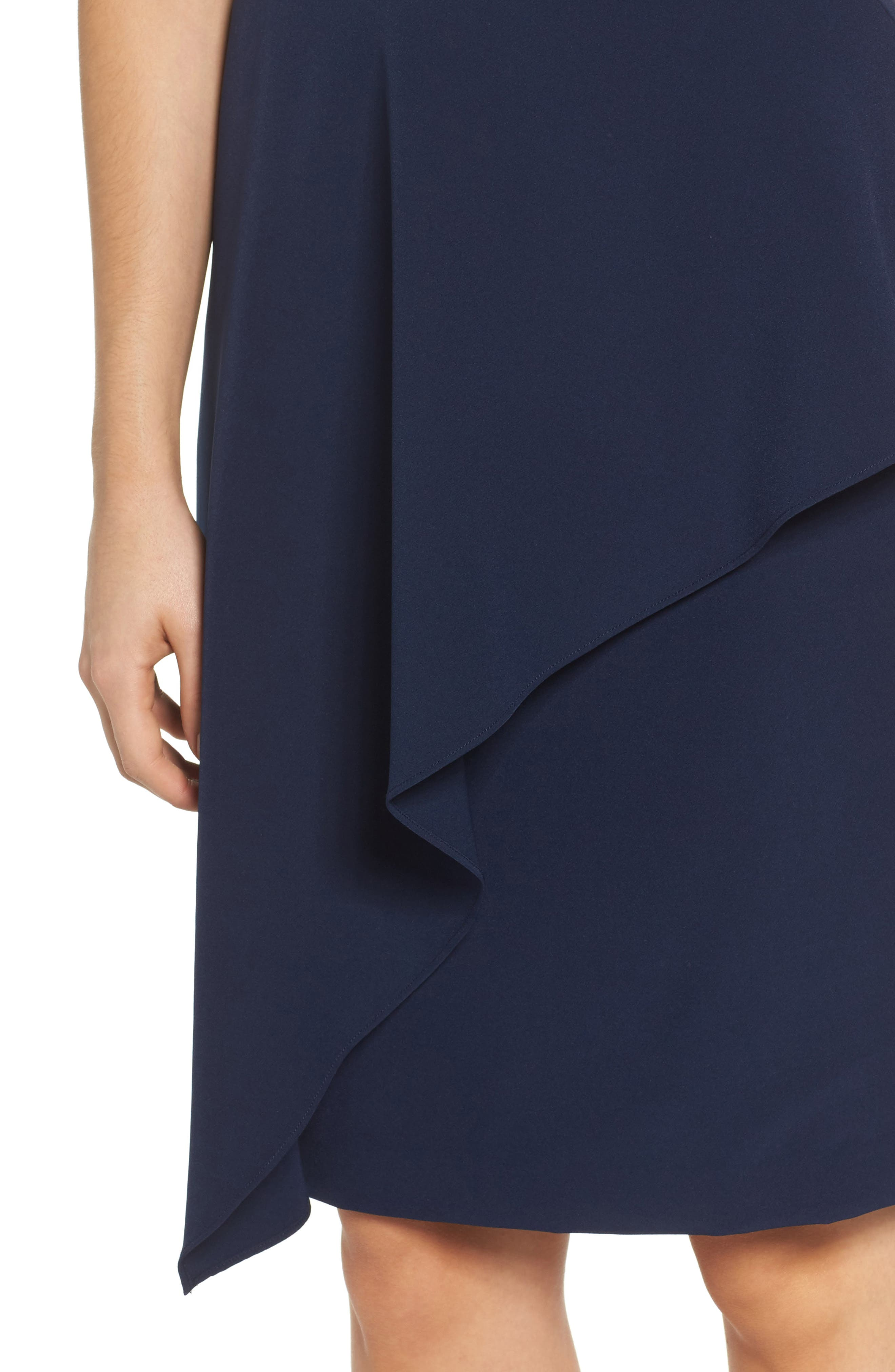 Alternate Image 4  - Maggy London Solid Dream Crepe Sheath Dress