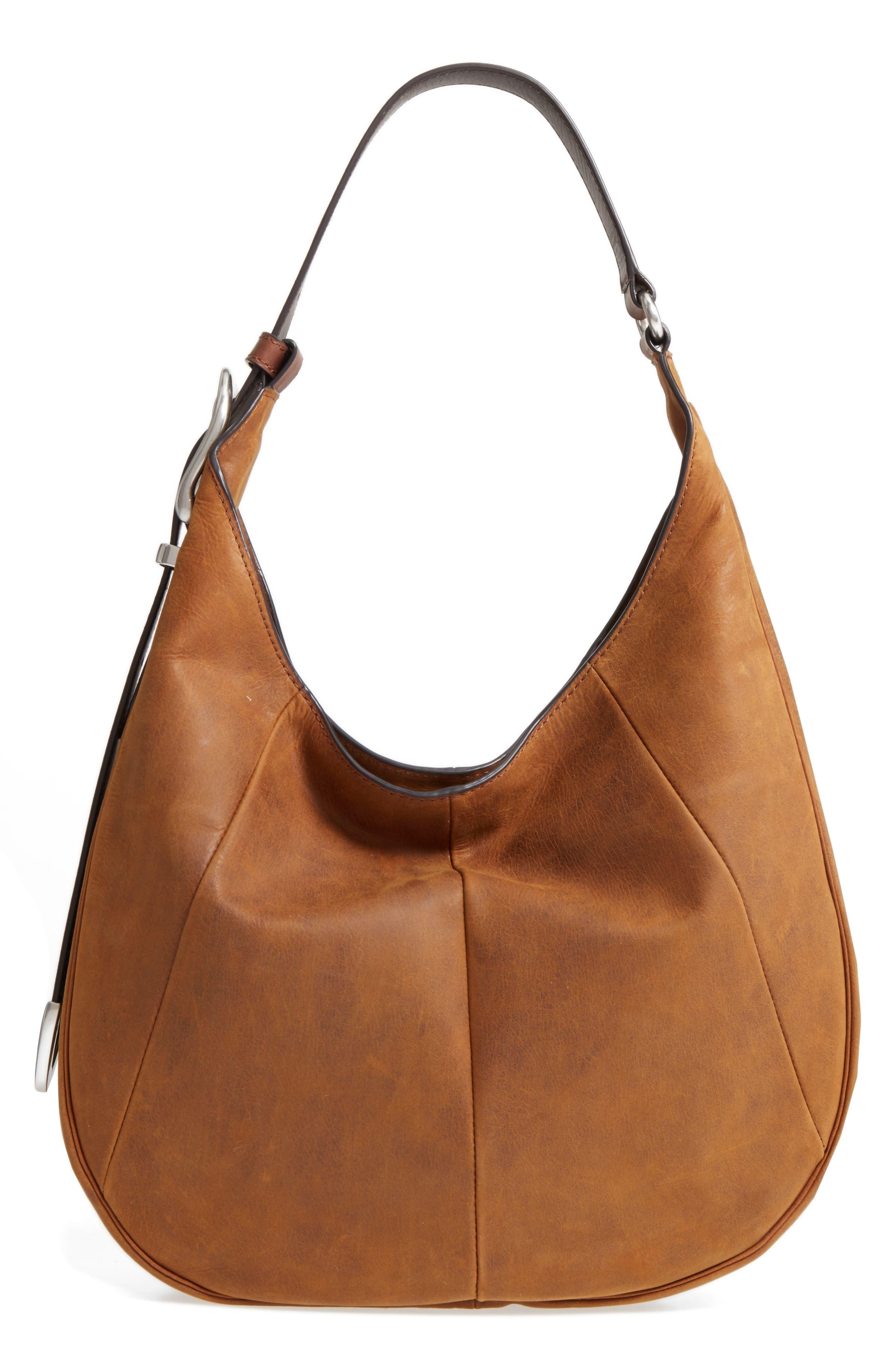 Frye Jacqui Leather Hobo