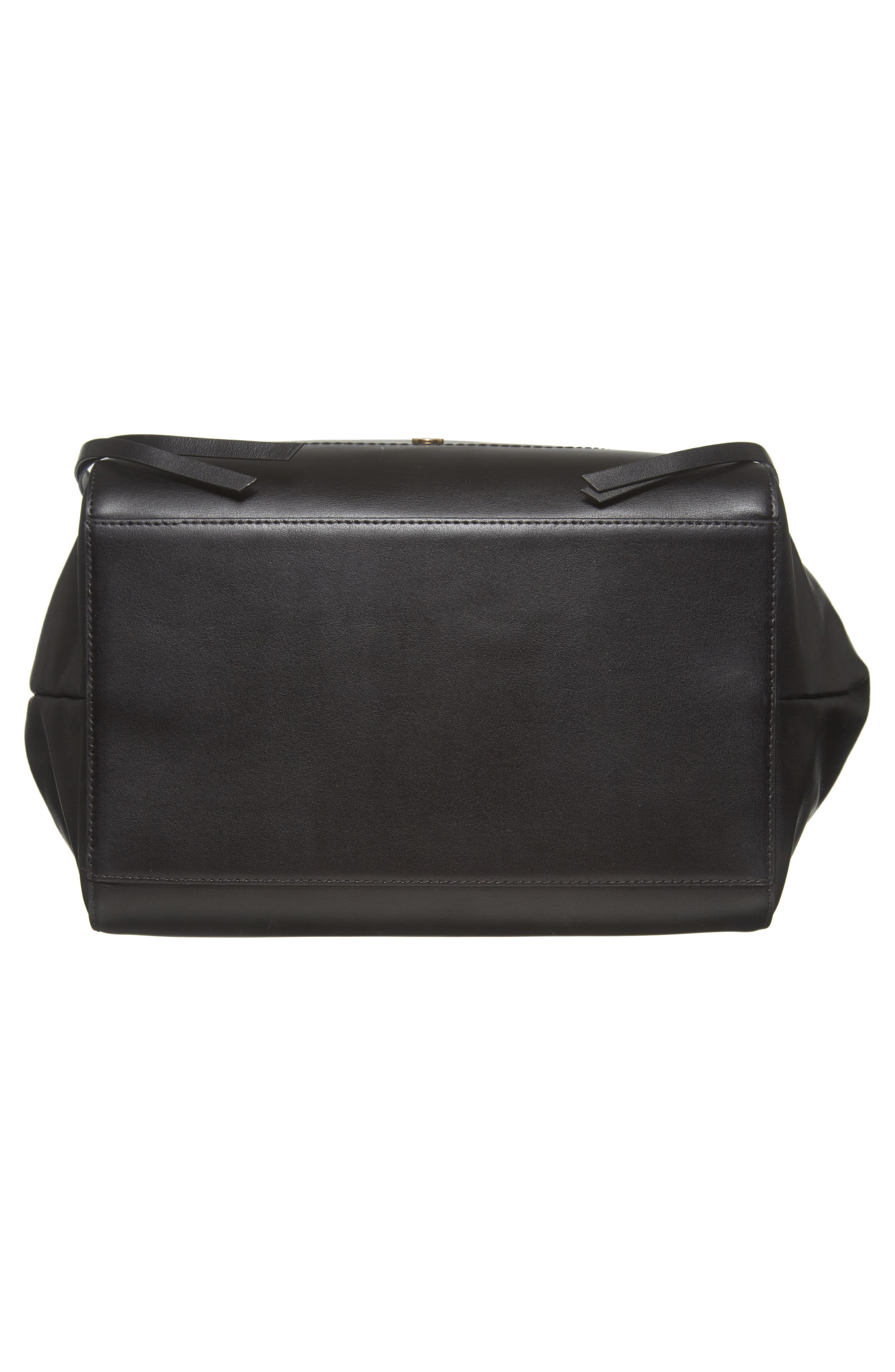 Downtown Charlize RFID Leather Tote,                             Alternate thumbnail 6, color,                             Black