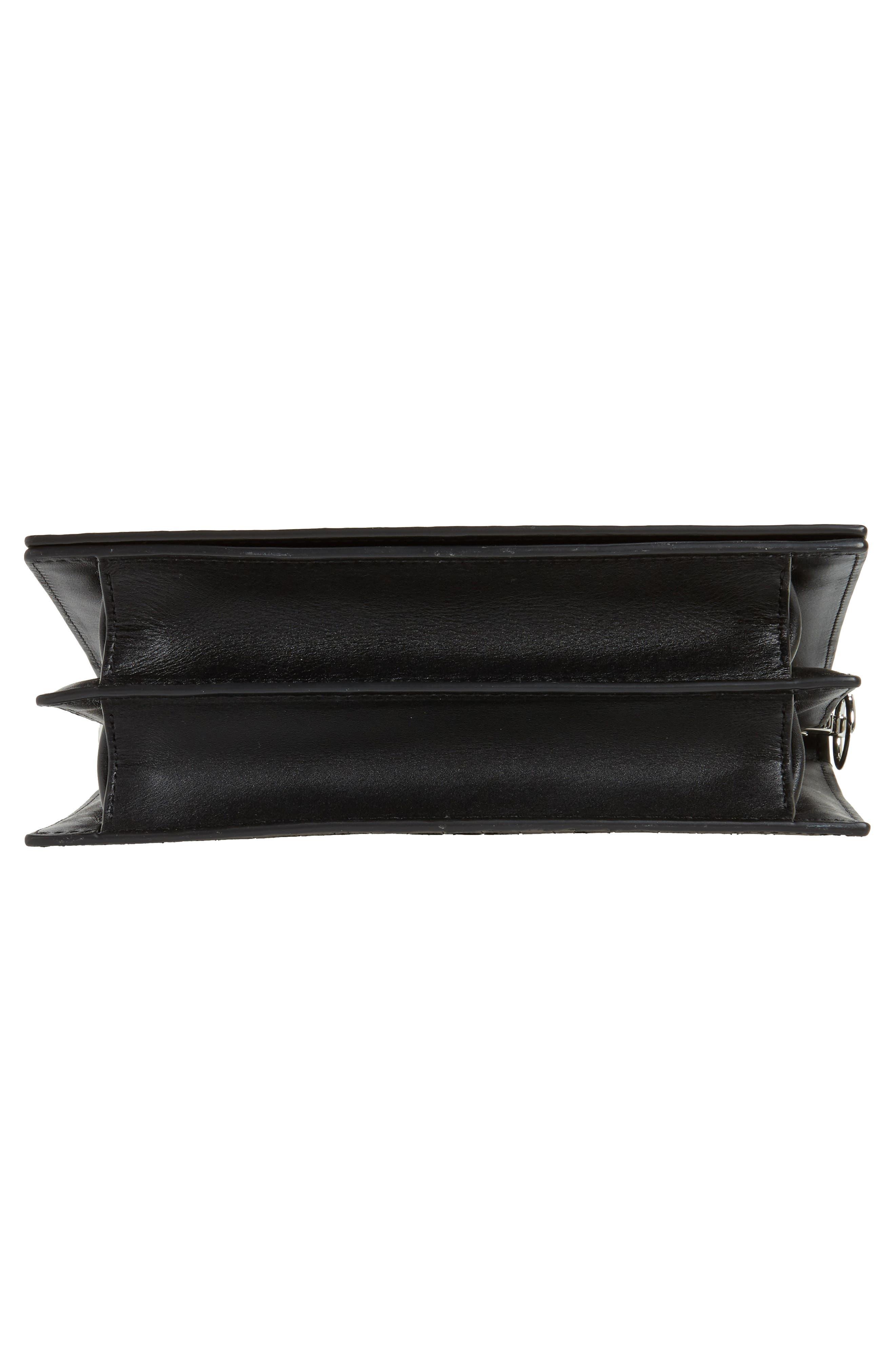 Alternate Image 7  - ALLSAINTS Keel Croc Embossed Leather Box Bag