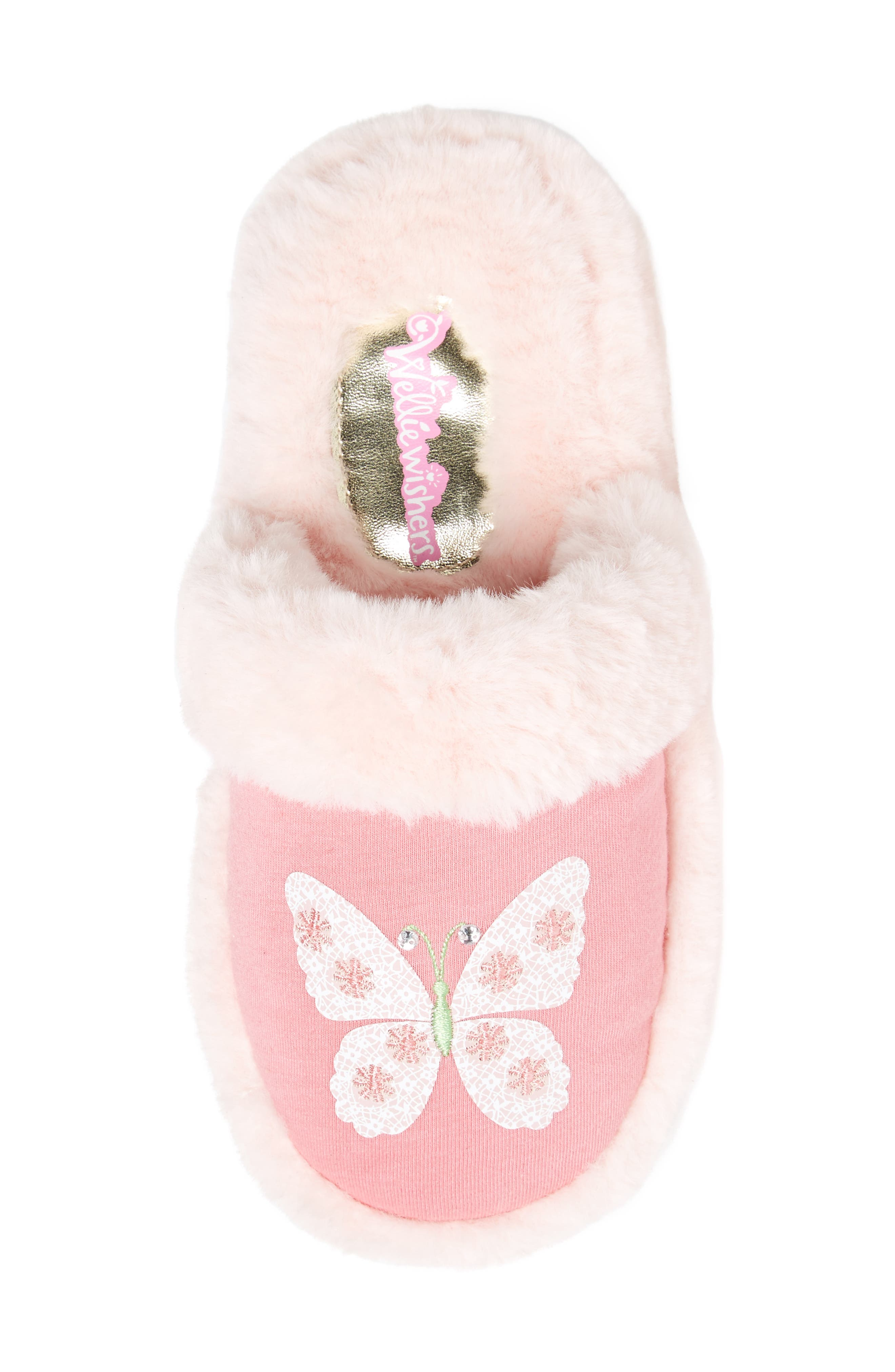 Alternate Image 5  - WellieWishers from American Girl Ashlyn Faux Fur Slipper (Toddler, Little Kid & Big Kid)