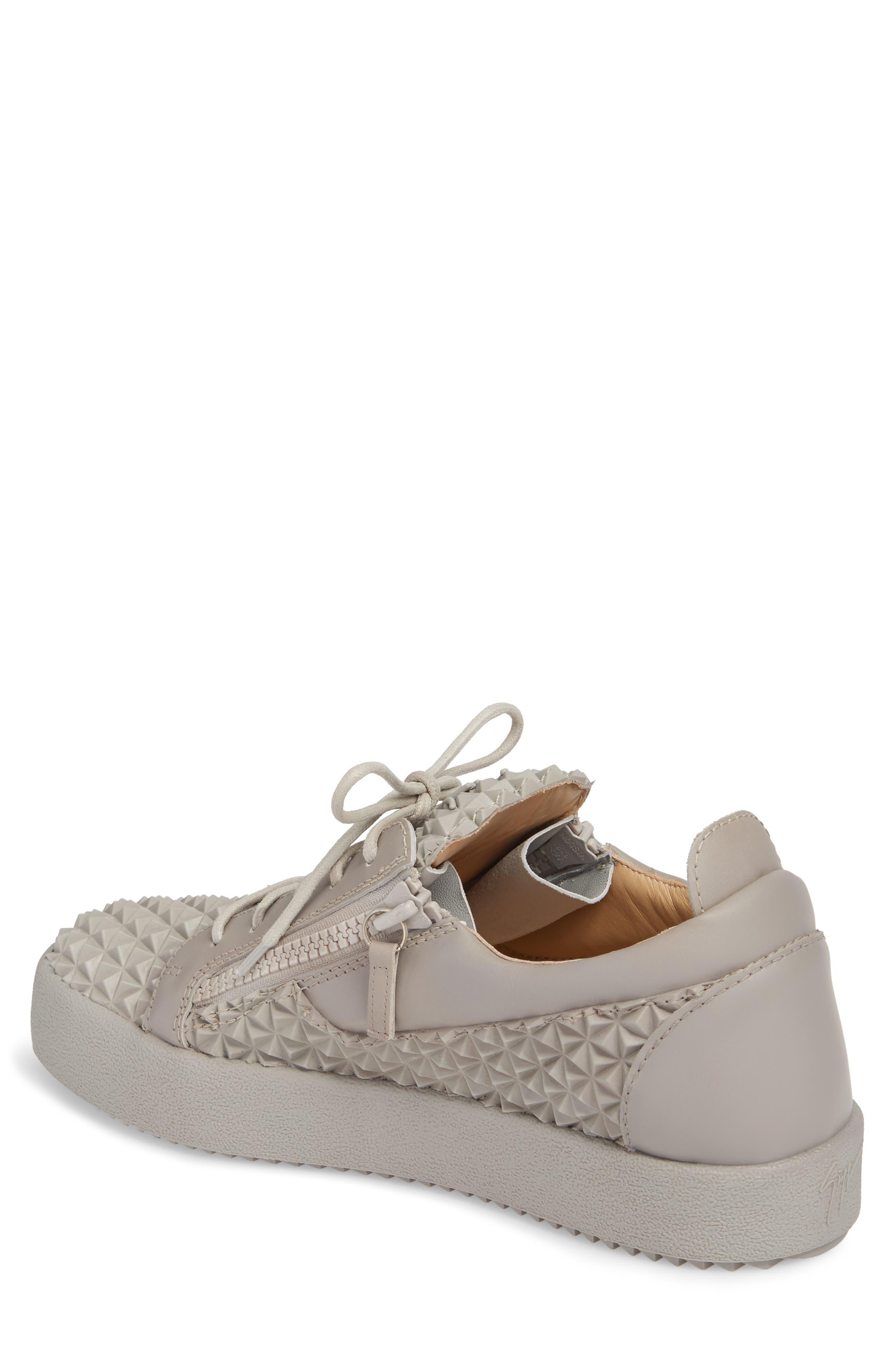 Low Top Sneaker,                             Alternate thumbnail 2, color,                             Grey