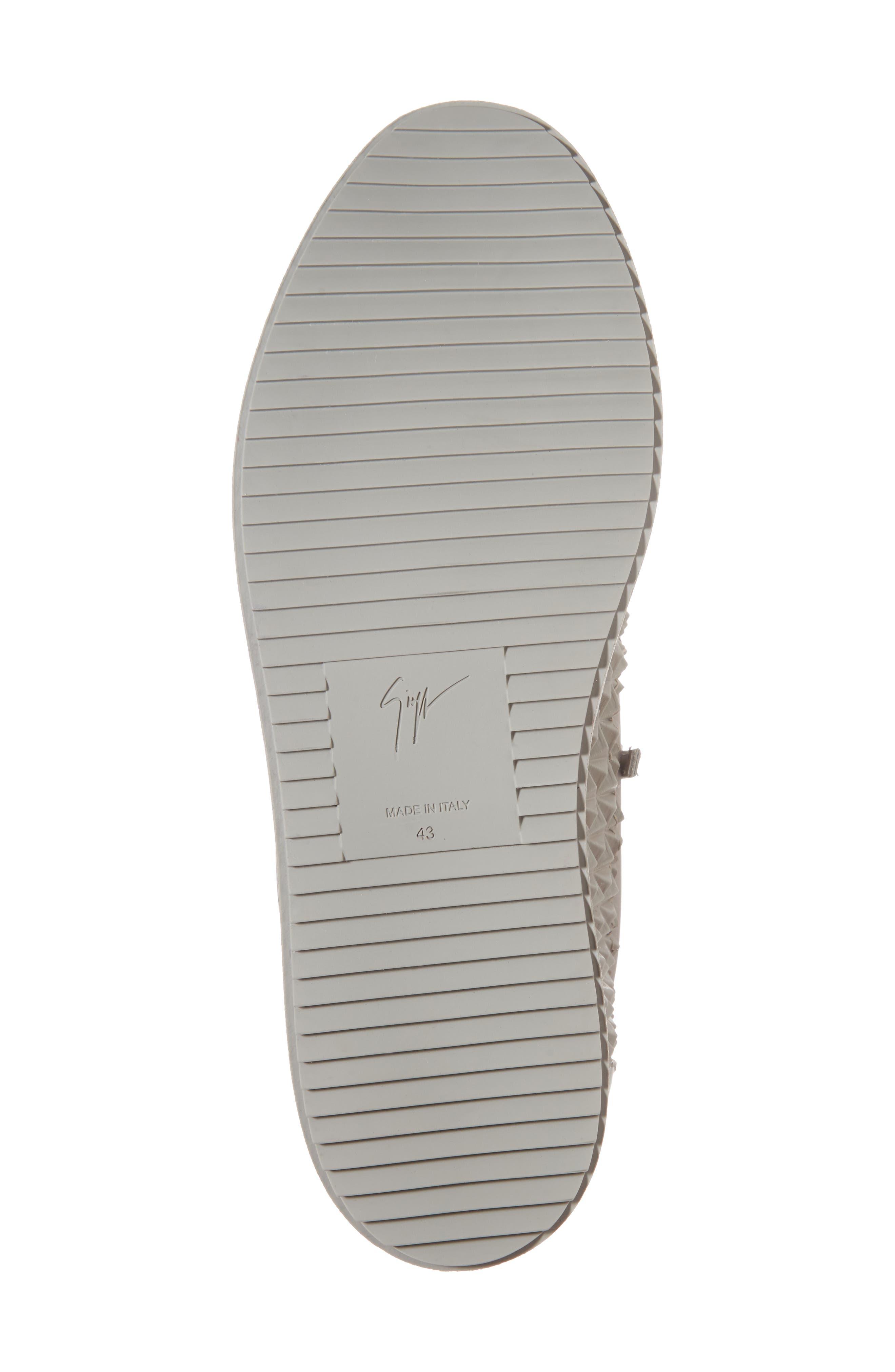 Low Top Sneaker,                             Alternate thumbnail 6, color,                             Grey