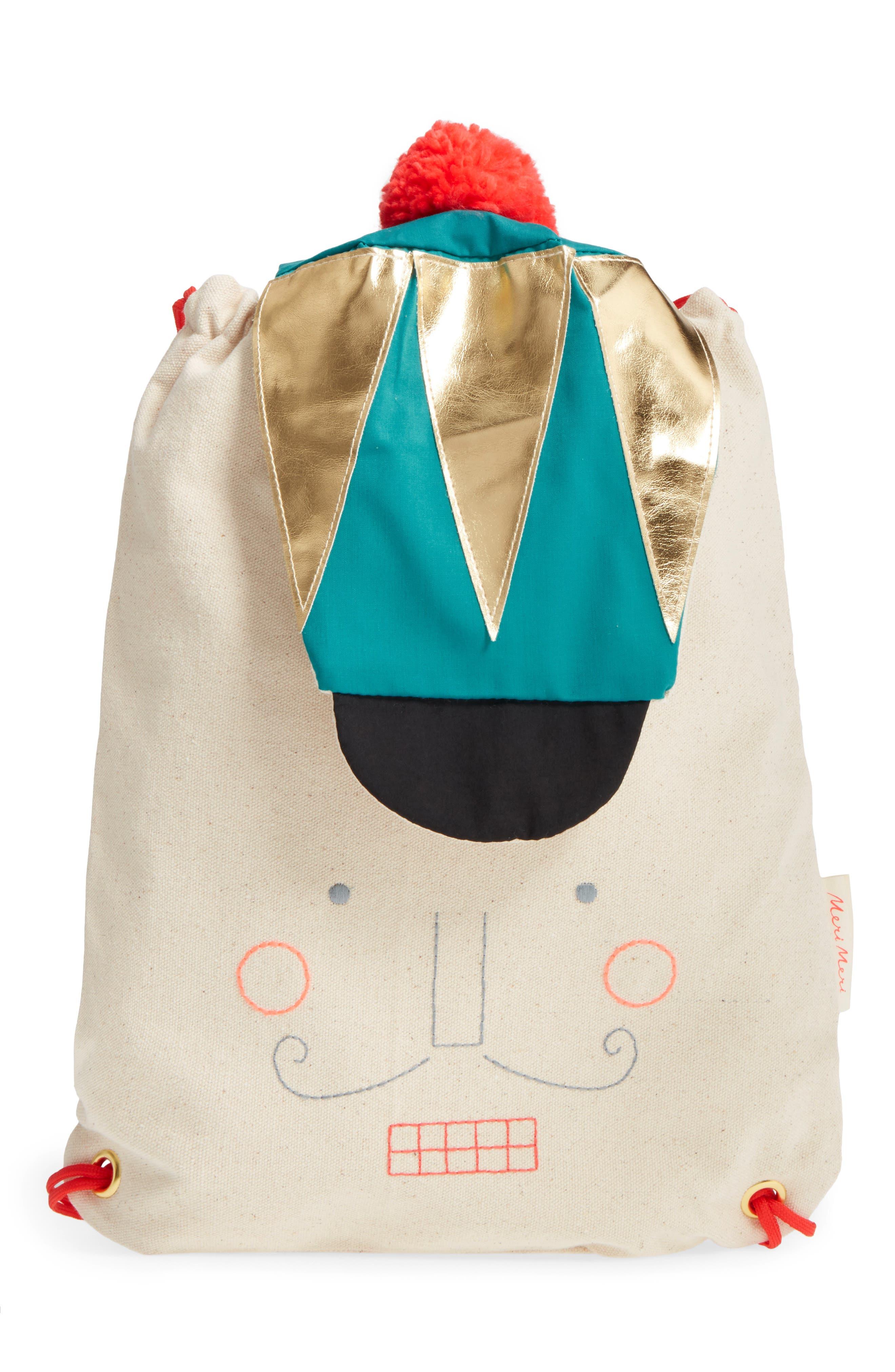 Meri Meri Nutcracker Canvas Backpack (Girls)