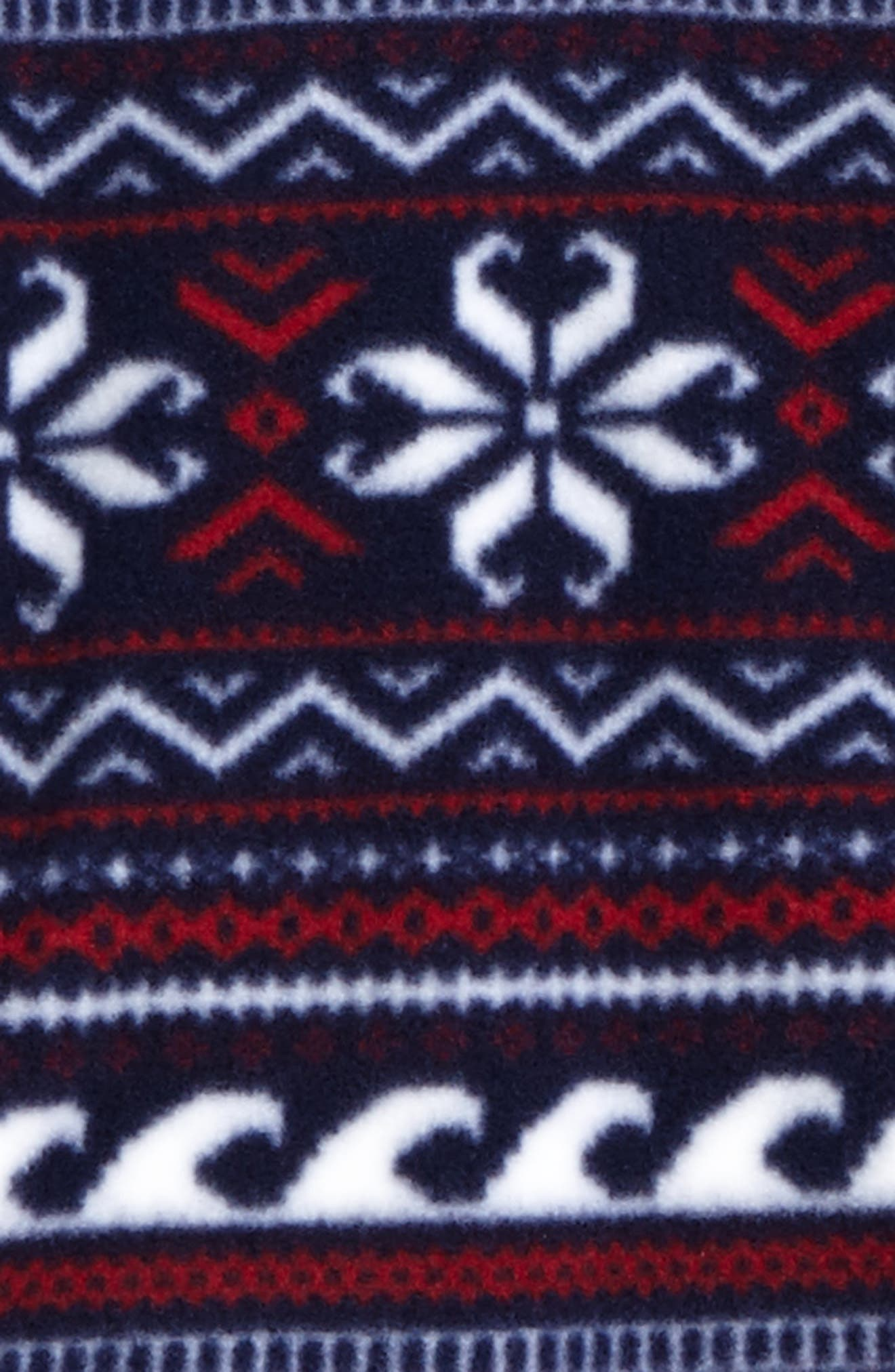 Fair Isle Snap Fleece Pullover,                             Alternate thumbnail 2, color,                             Multi