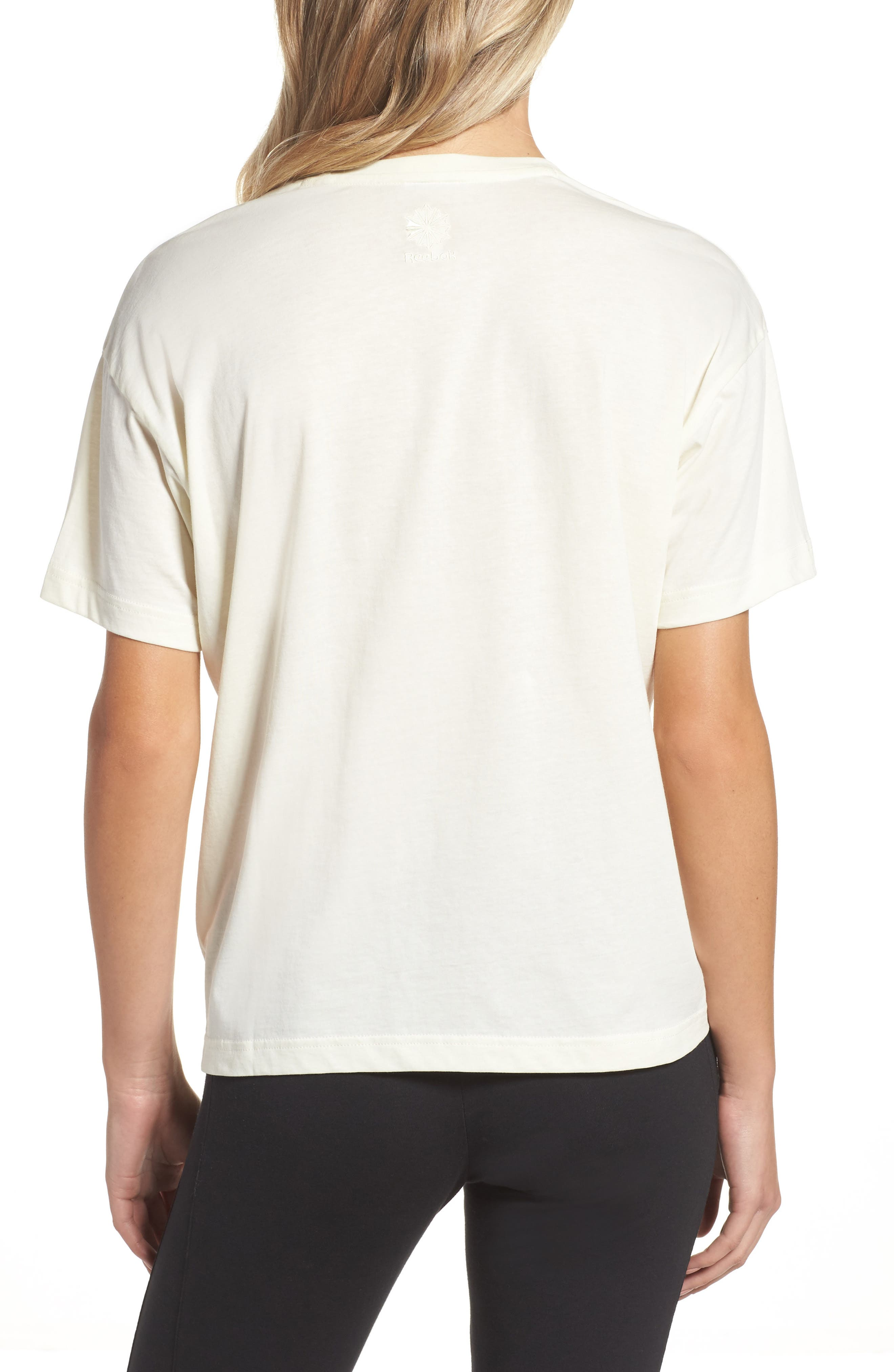 Elevated Tee,                             Alternate thumbnail 2, color,                             Classic White