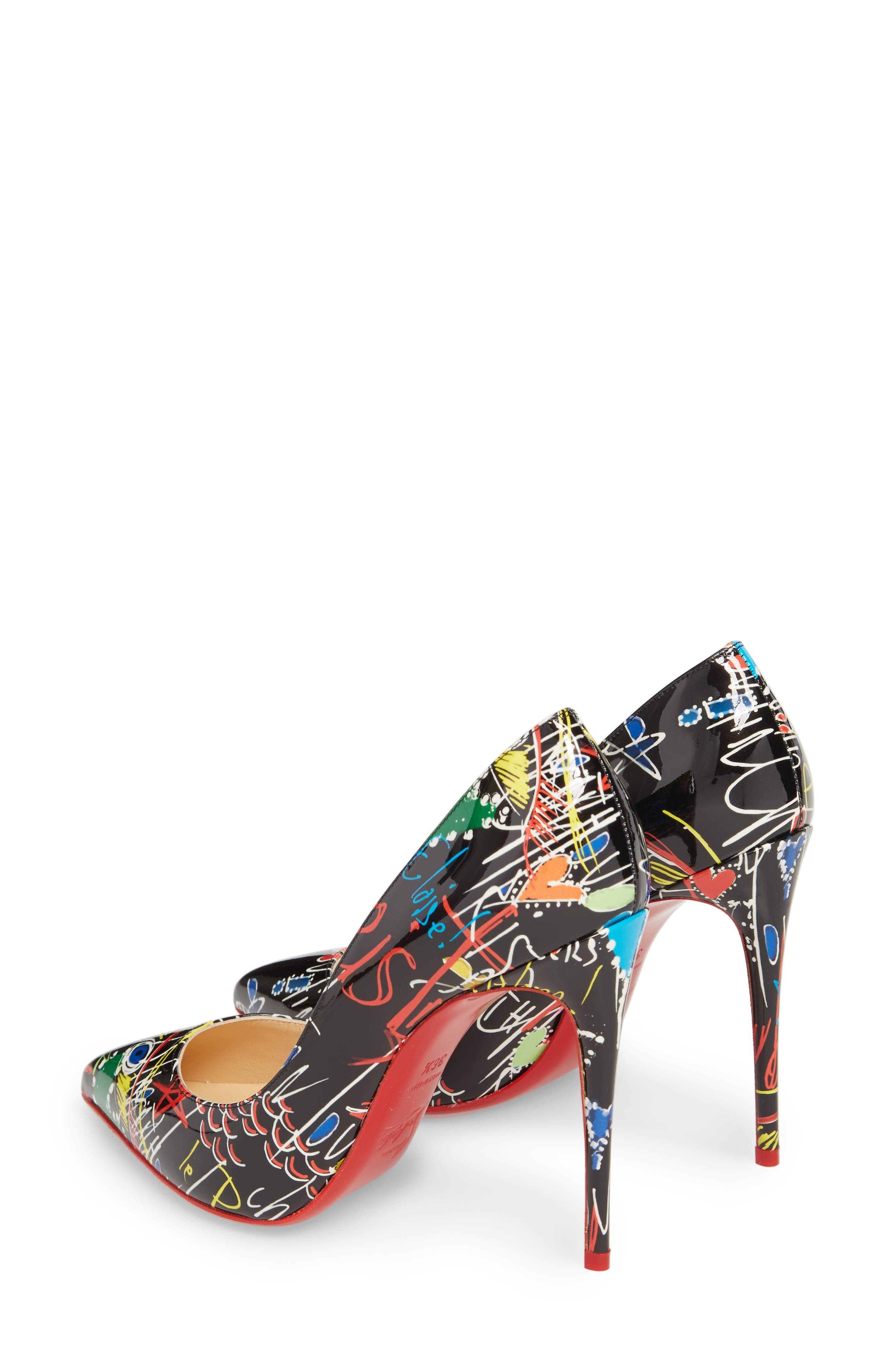 Alternate Image 2  - Christian Louboutin Pigalle Loubitag Pointy Toe Pump (Women)