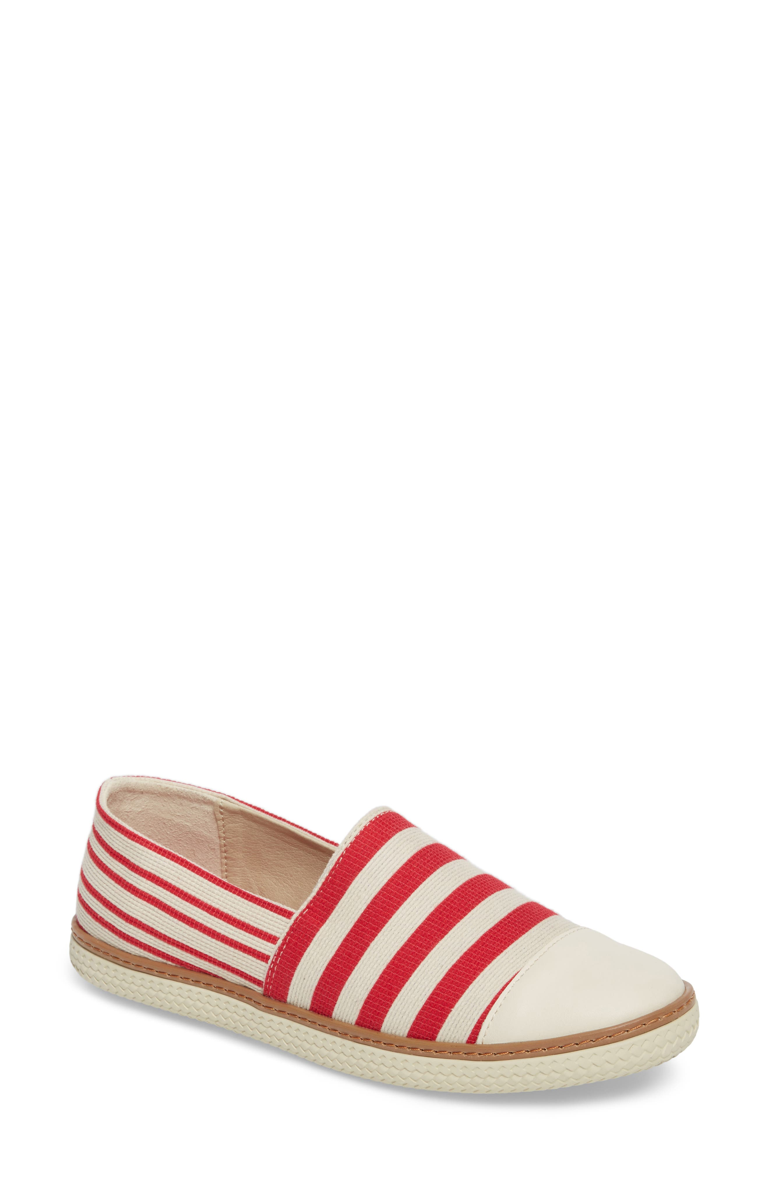 Kalese Flat,                             Main thumbnail 1, color,                             Red Canvas