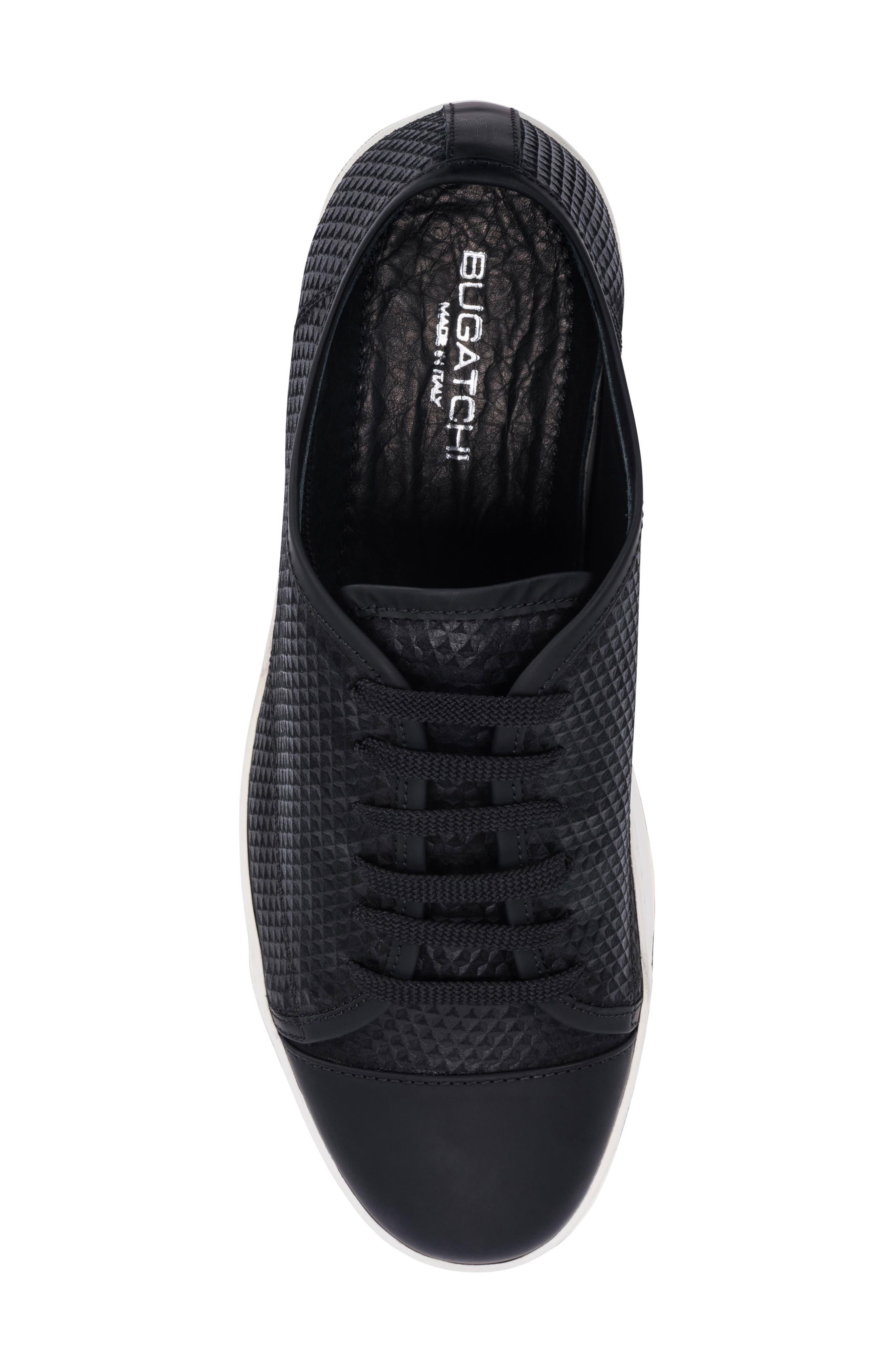 Ischia Sneaker,                             Alternate thumbnail 5, color,                             Black