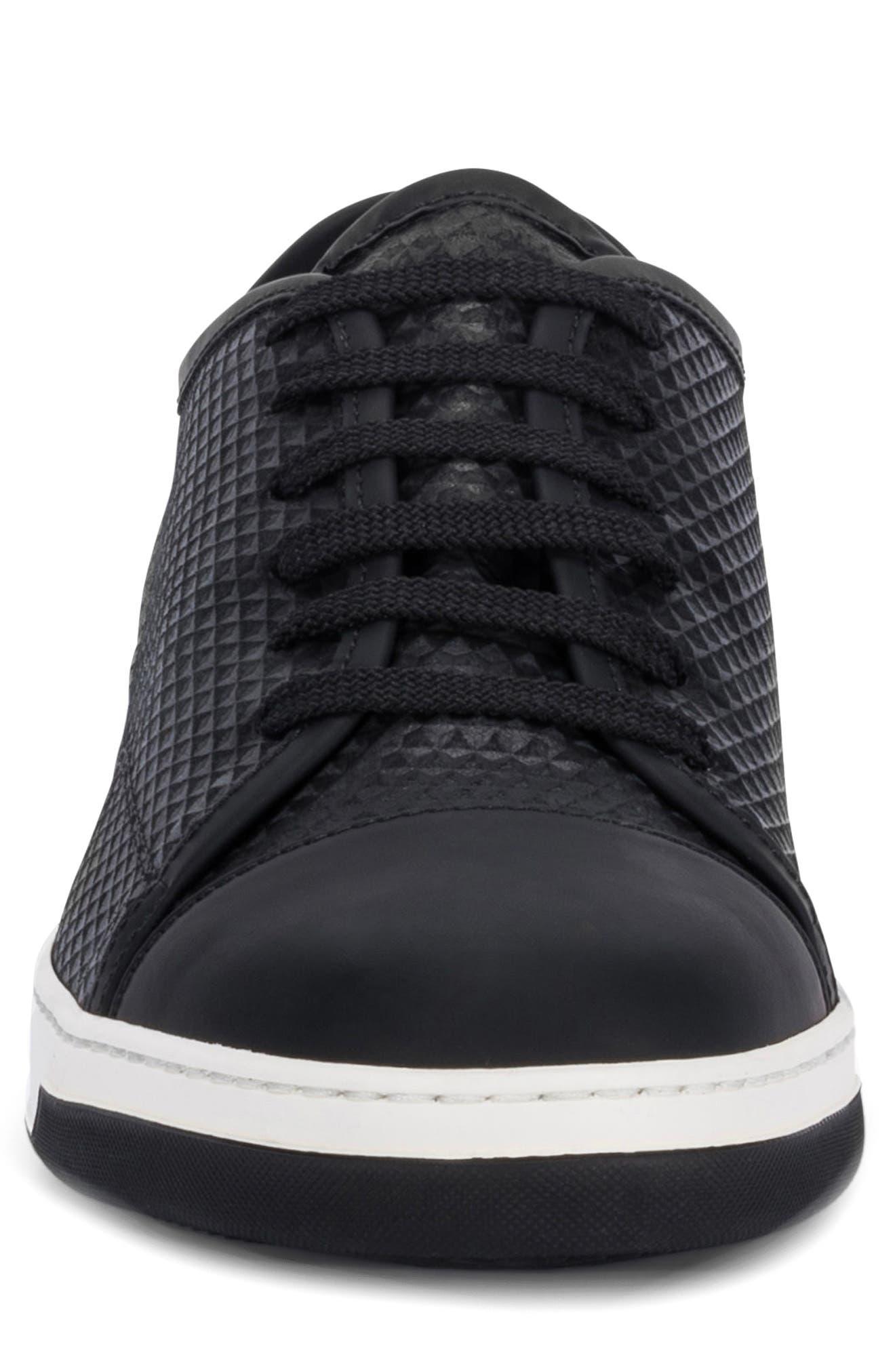 Ischia Sneaker,                             Alternate thumbnail 4, color,                             Black