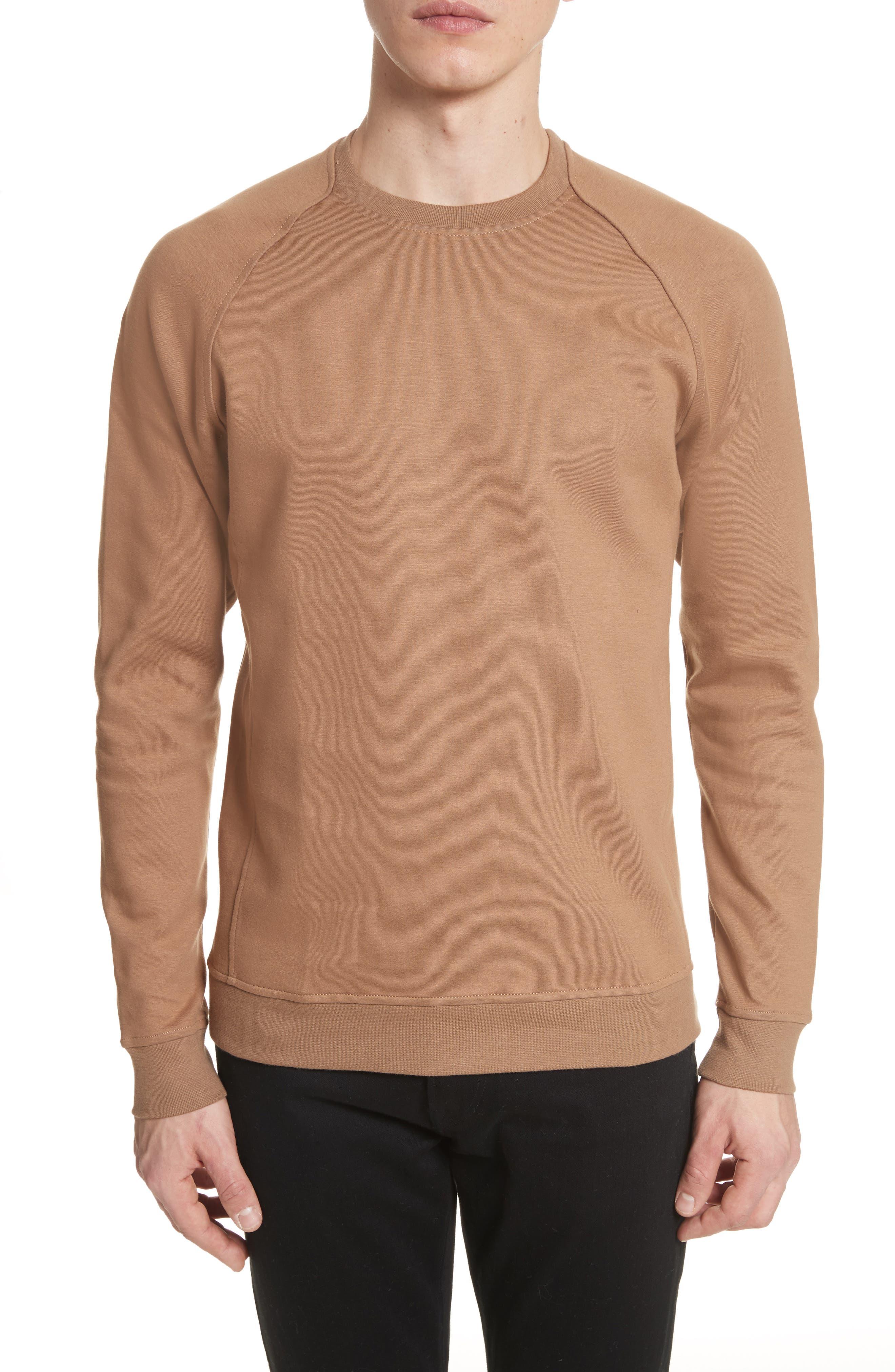 Ketel Dry Mercerized Crewneck Sweatshirt,                             Main thumbnail 1, color,                             Light Sand