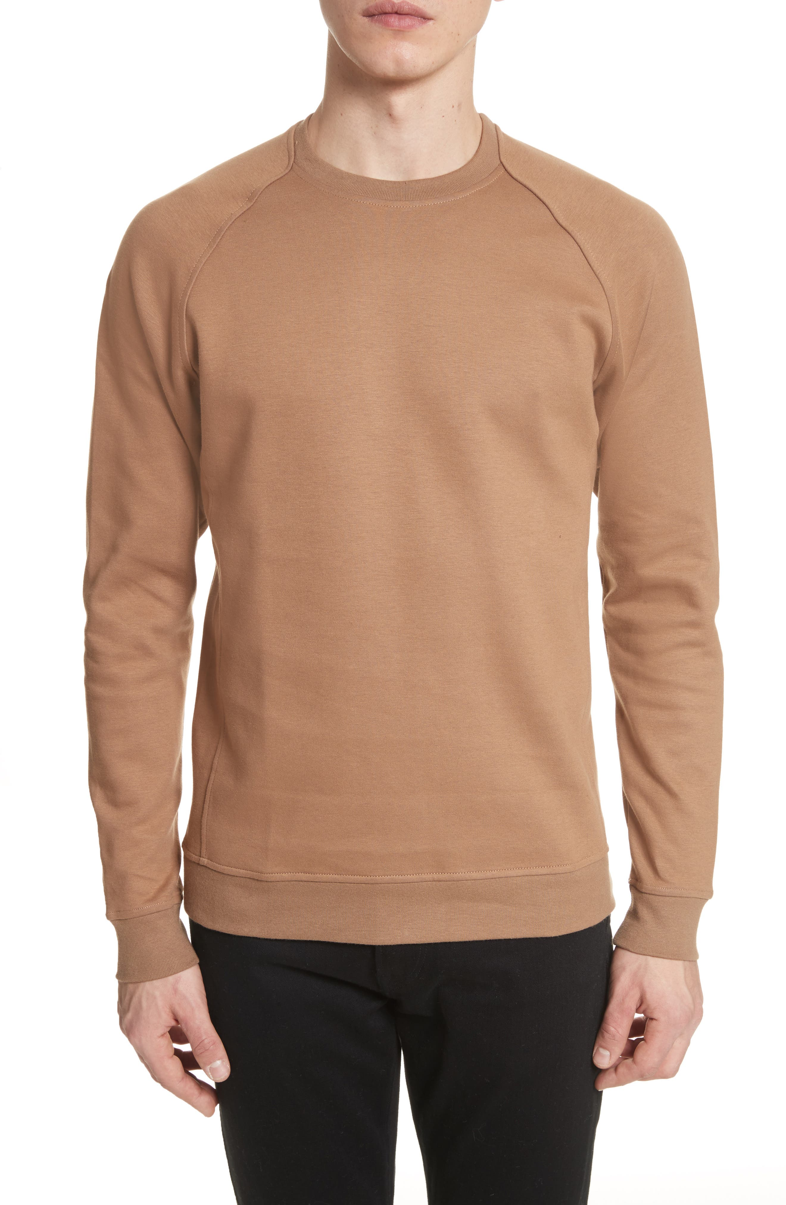 Ketel Dry Mercerized Crewneck Sweatshirt,                         Main,                         color, Light Sand