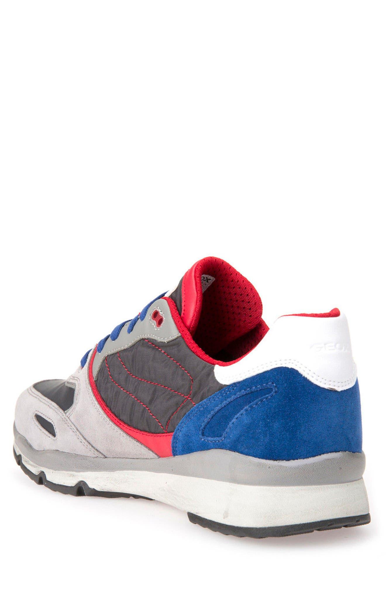 Alternate Image 2  - Geox Sandro ABX Ambphibiox Waterproof Sneaker (Men)