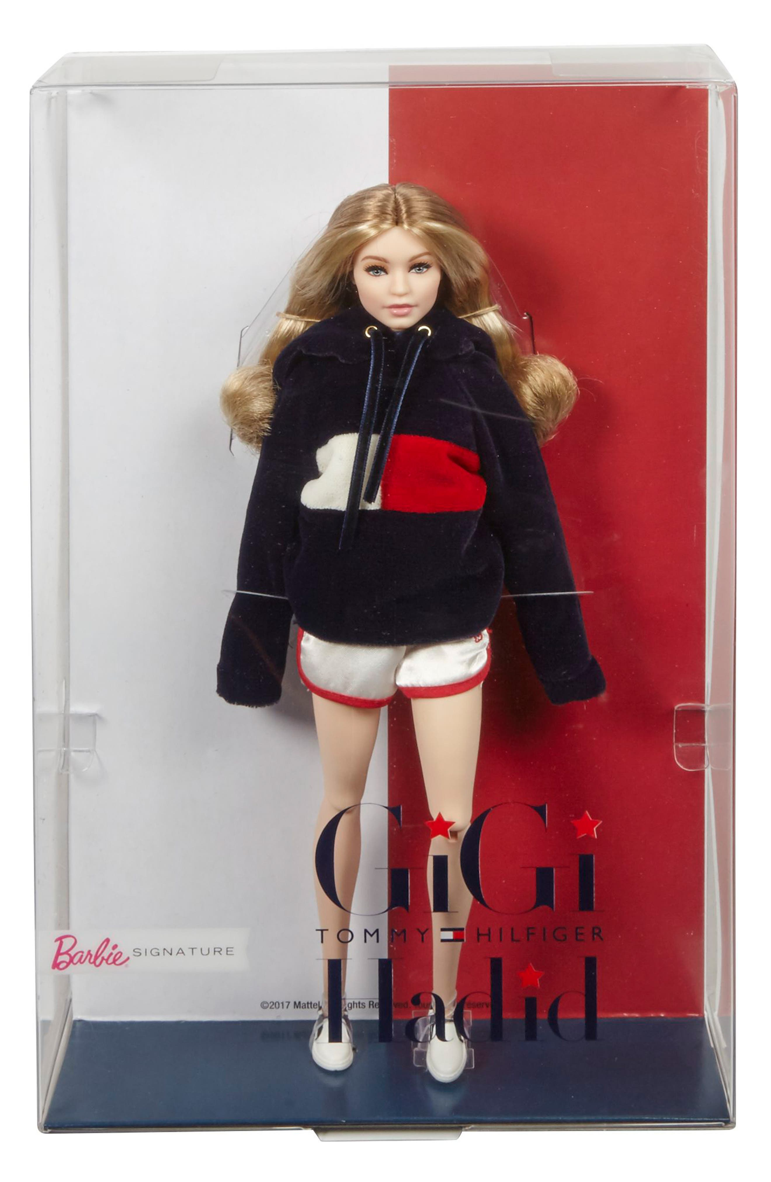Barbie<sup>®</sup> Signature Tommy Hilfiger x Gigi Hadid Doll,                             Main thumbnail 1, color,                             Multi