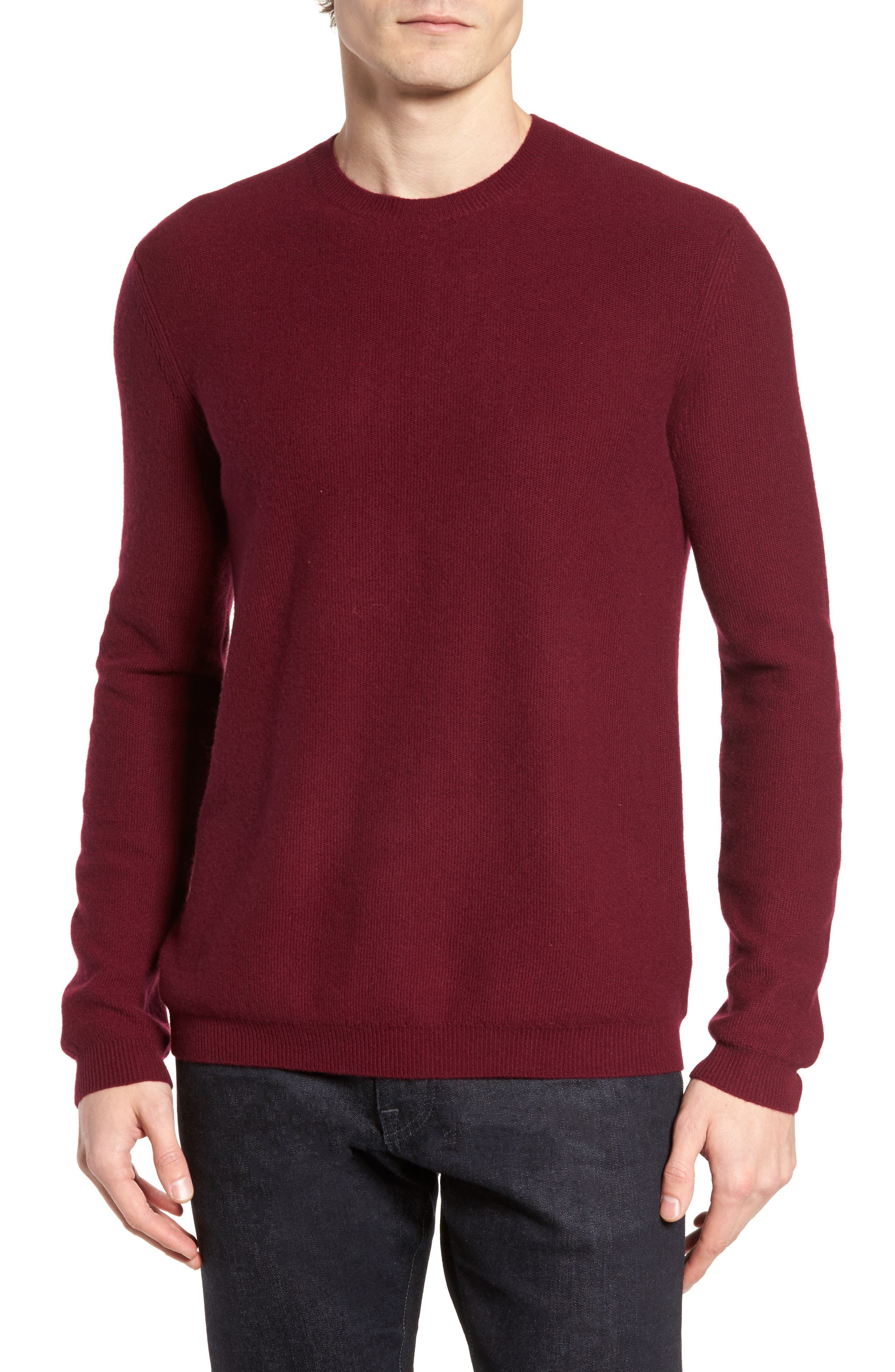 Theory Medin C Cashmere Crewneck Sweater
