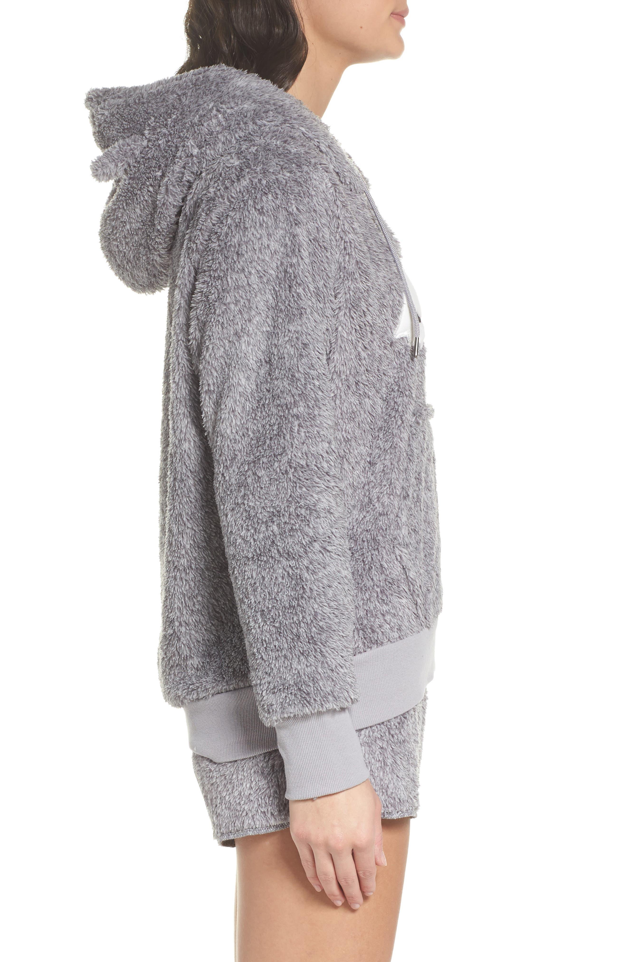 Alternate Image 3  - COZY ZOE Hooded Plush Pajamas