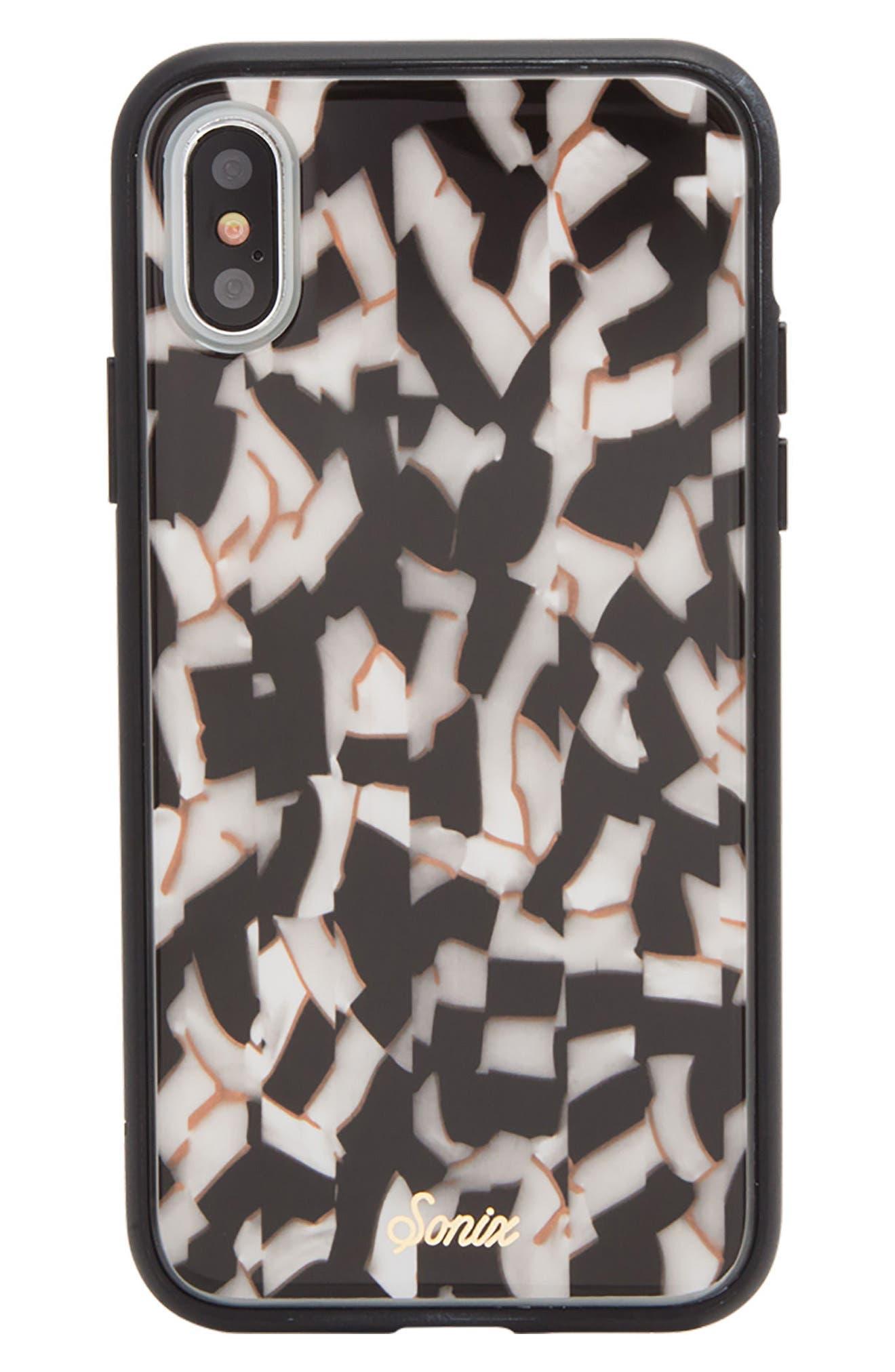 Sonix Pearlescent Black iPhone X Case