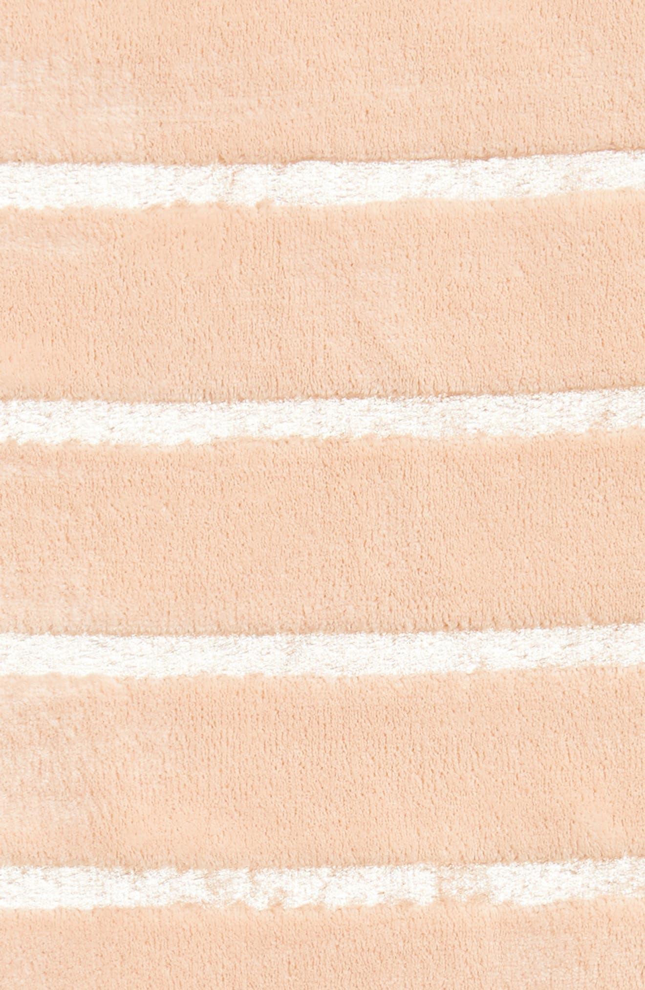 Shimmer Stripe Throw,                             Alternate thumbnail 2, color,                             Pink Hero
