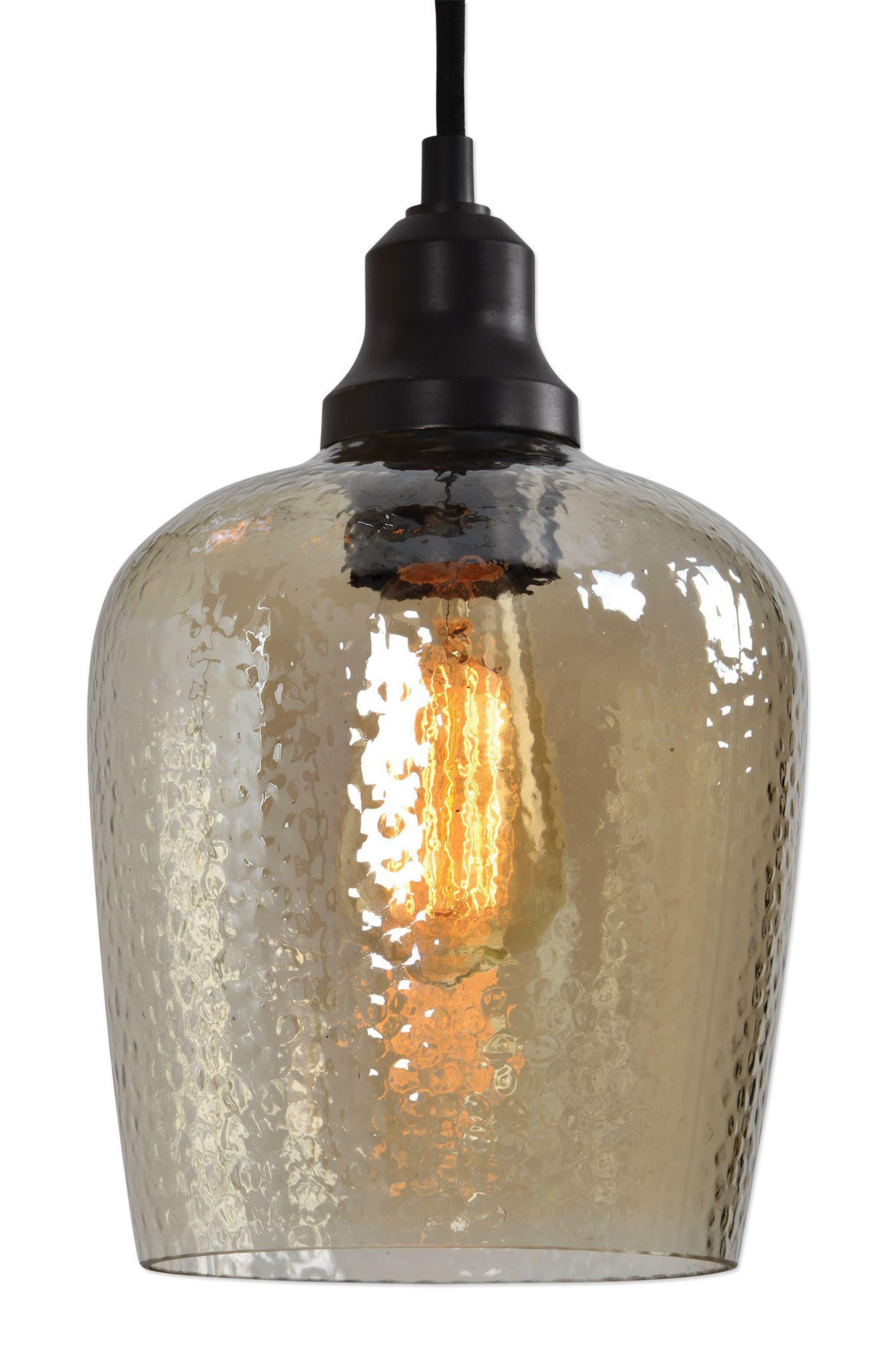 Aarush Pendant Lamp,                             Alternate thumbnail 3, color,                             Brown
