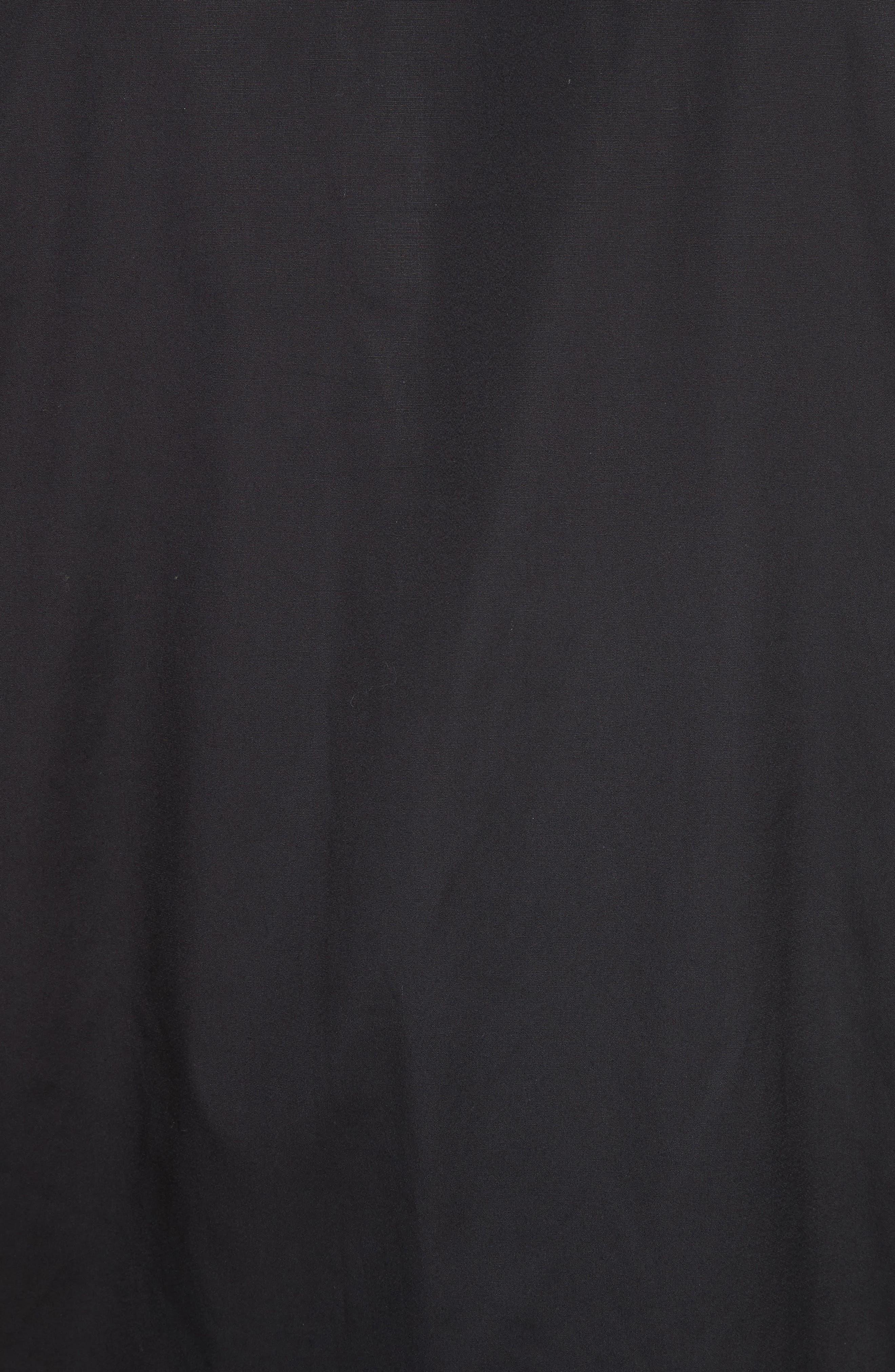 Military Shirt,                             Alternate thumbnail 5, color,                             Black