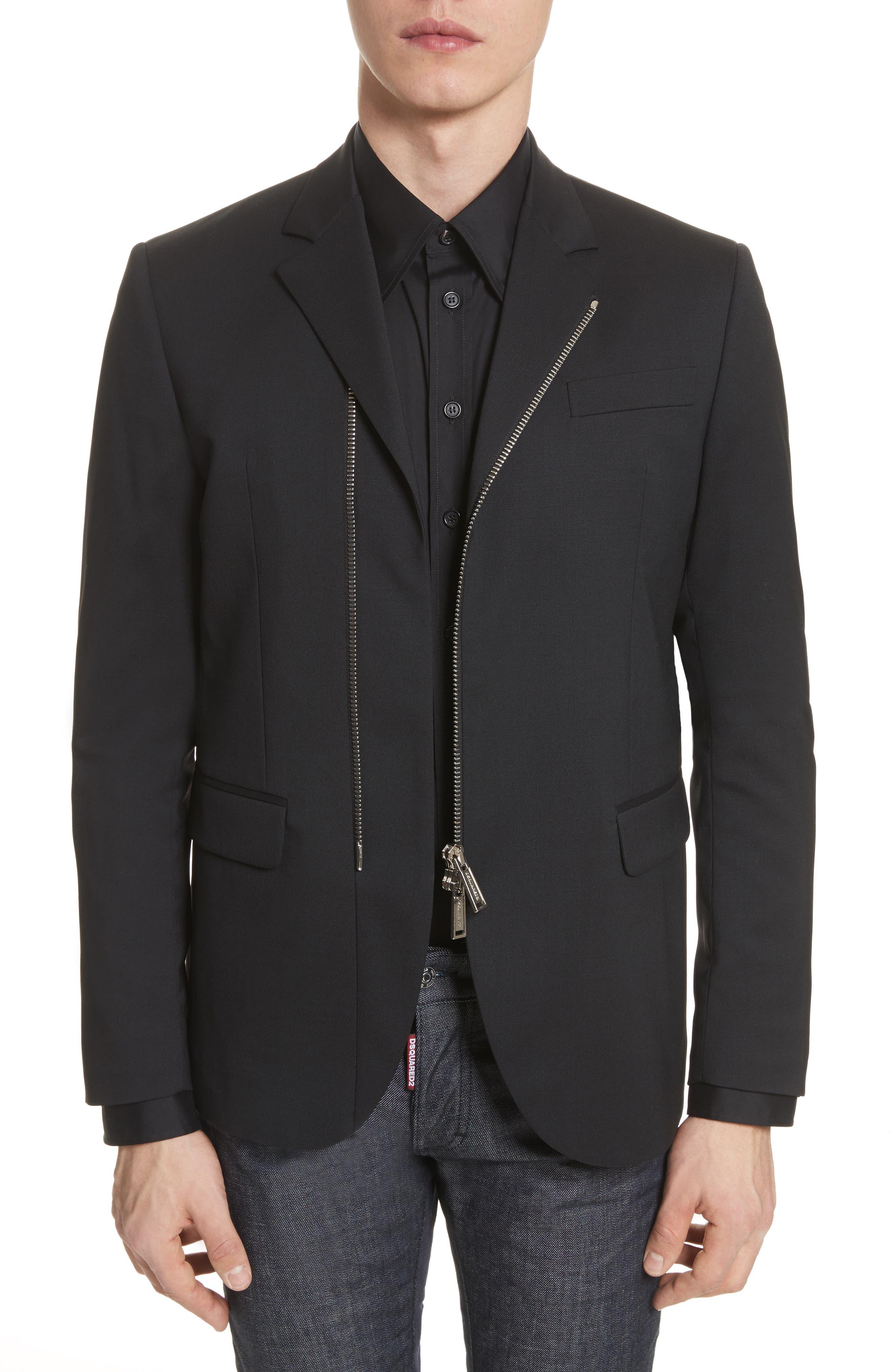 Dsquared2 Stretch Wool Sport Coat
