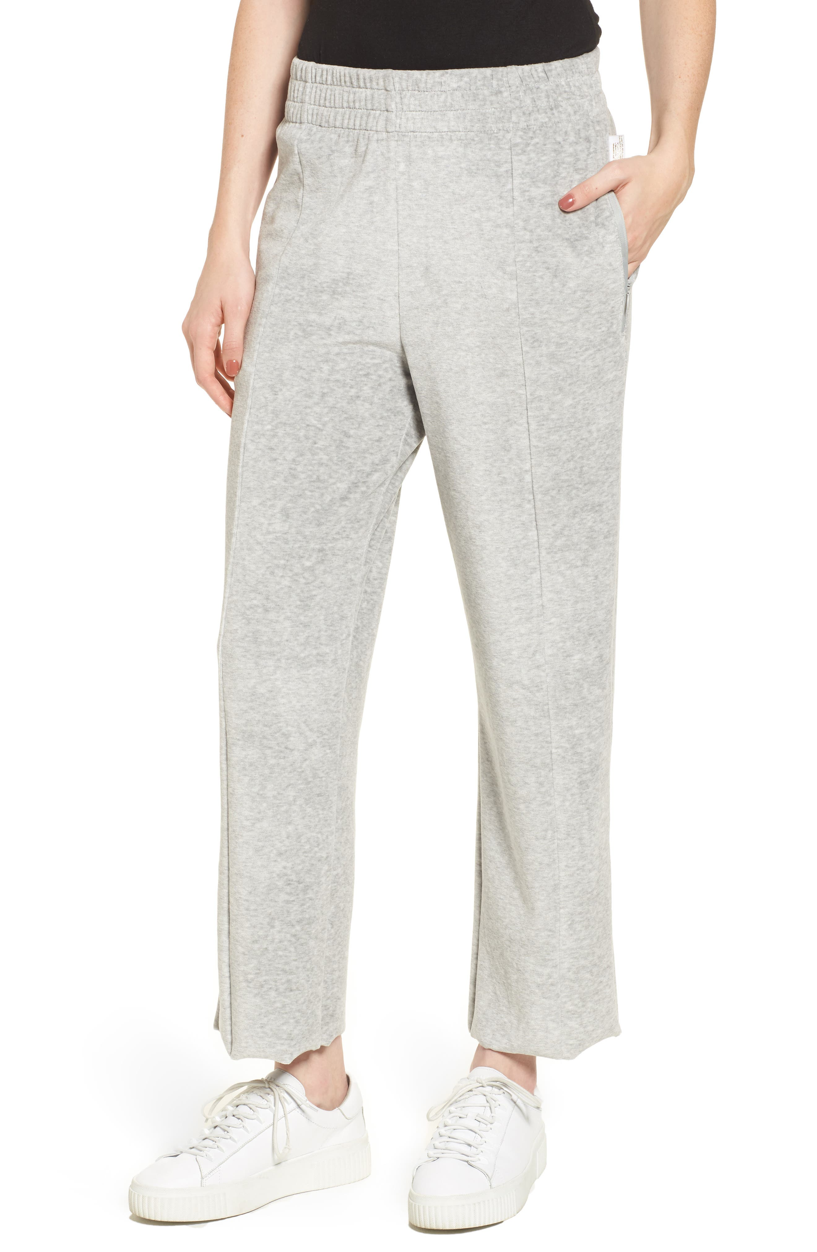 Alternate Image 1 Selected - Good American Good Sweats The High Waist Sweatpants (Regular & Plus Size)