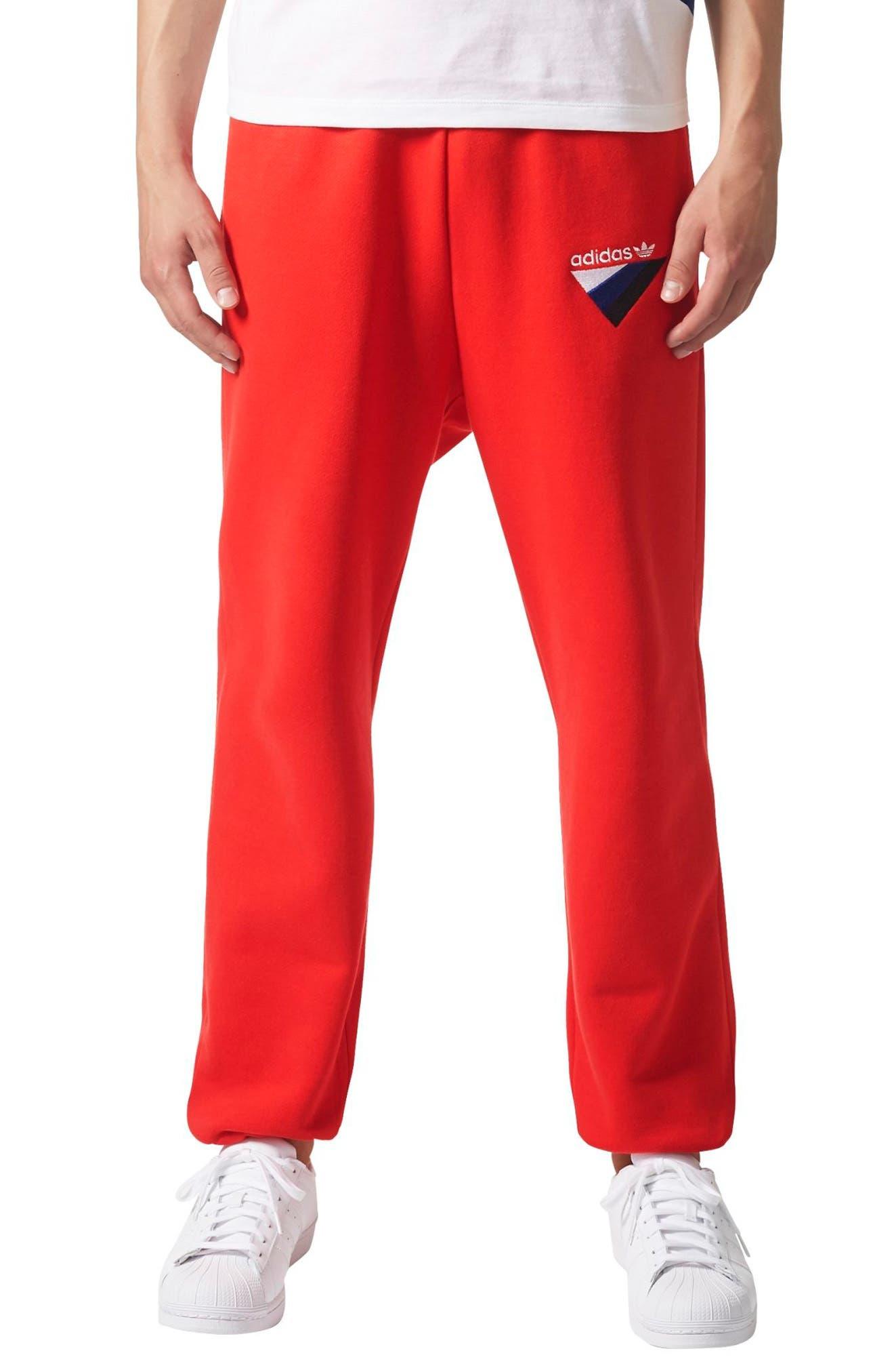 Originals Anichkov Sweatpants,                         Main,                         color, Vivid Red