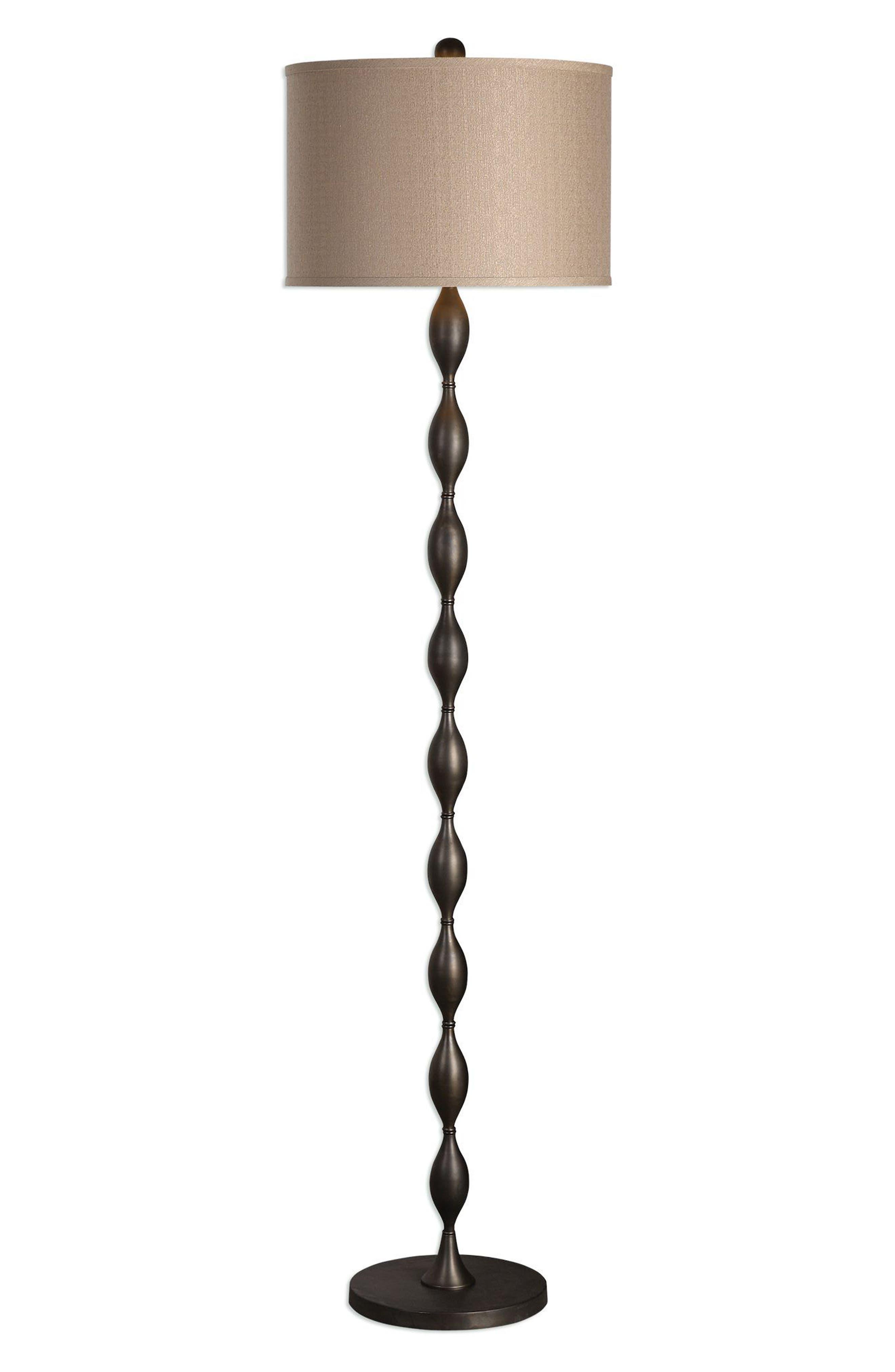 Pamlico Floor Lamp,                         Main,                         color, Brown