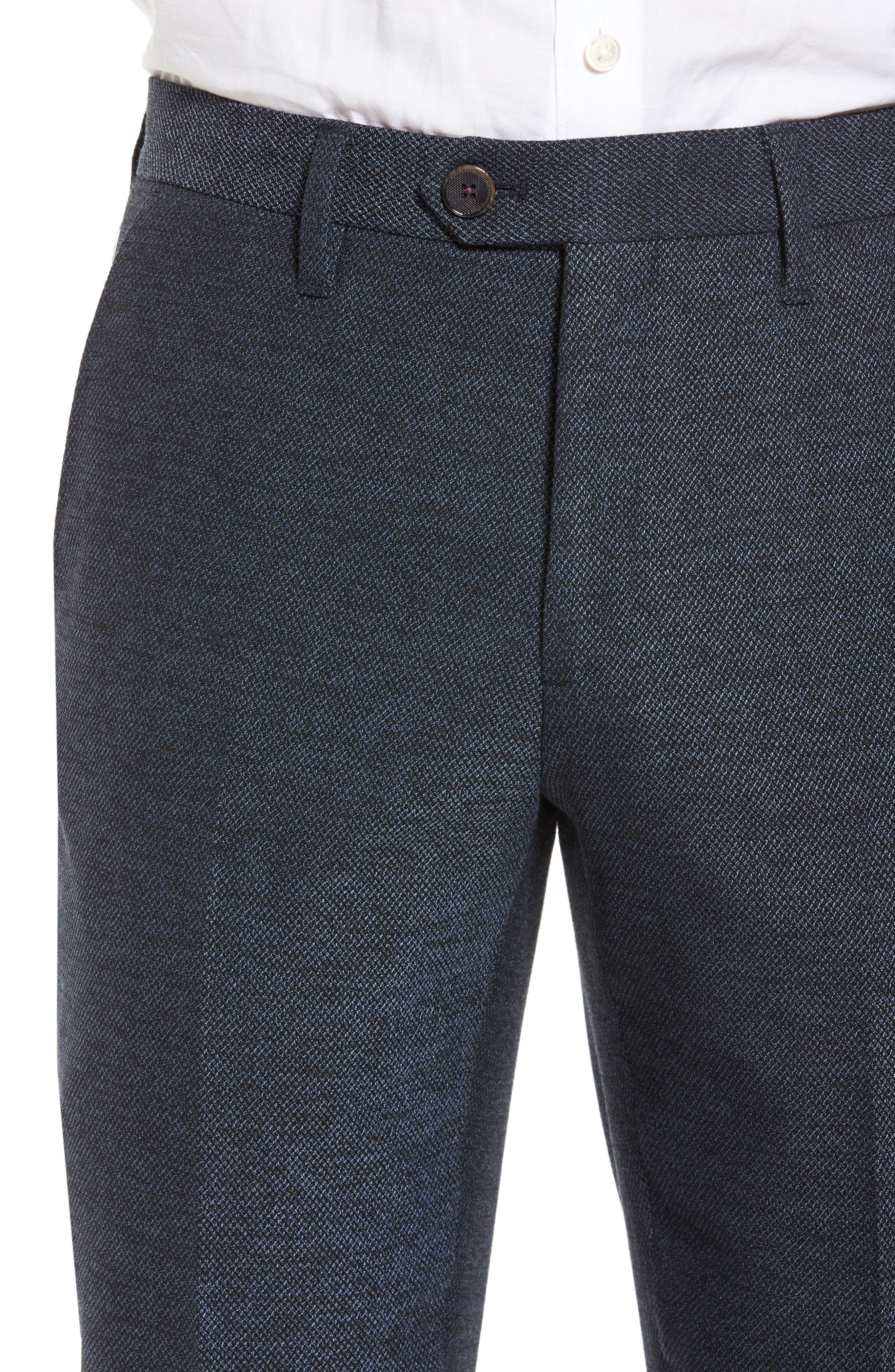Alternate Image 4  - Ted Baker London Porttro Modern Slim Fit Trousers