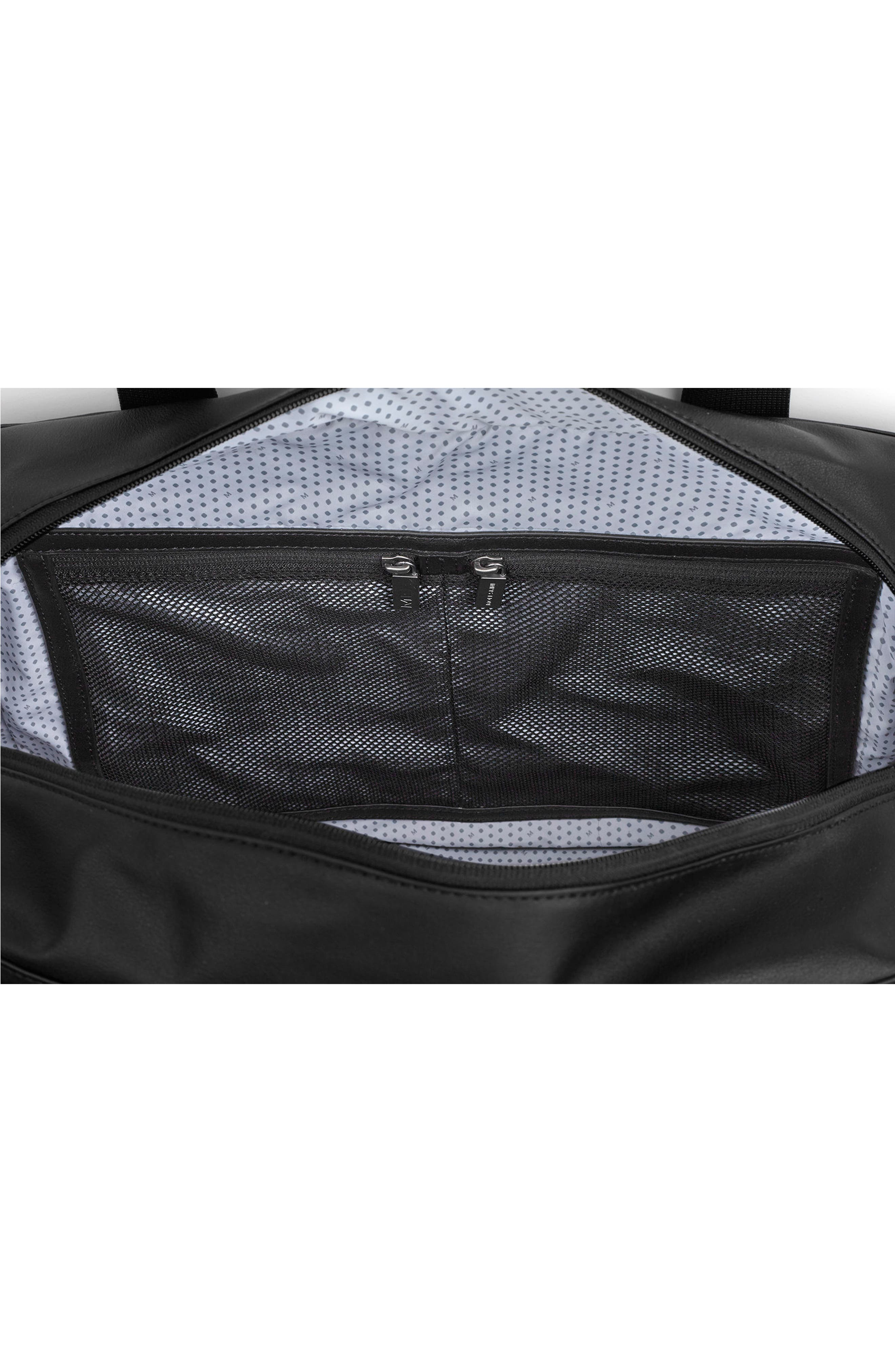 Classic Duffel Bag,                             Alternate thumbnail 6, color,                             Black