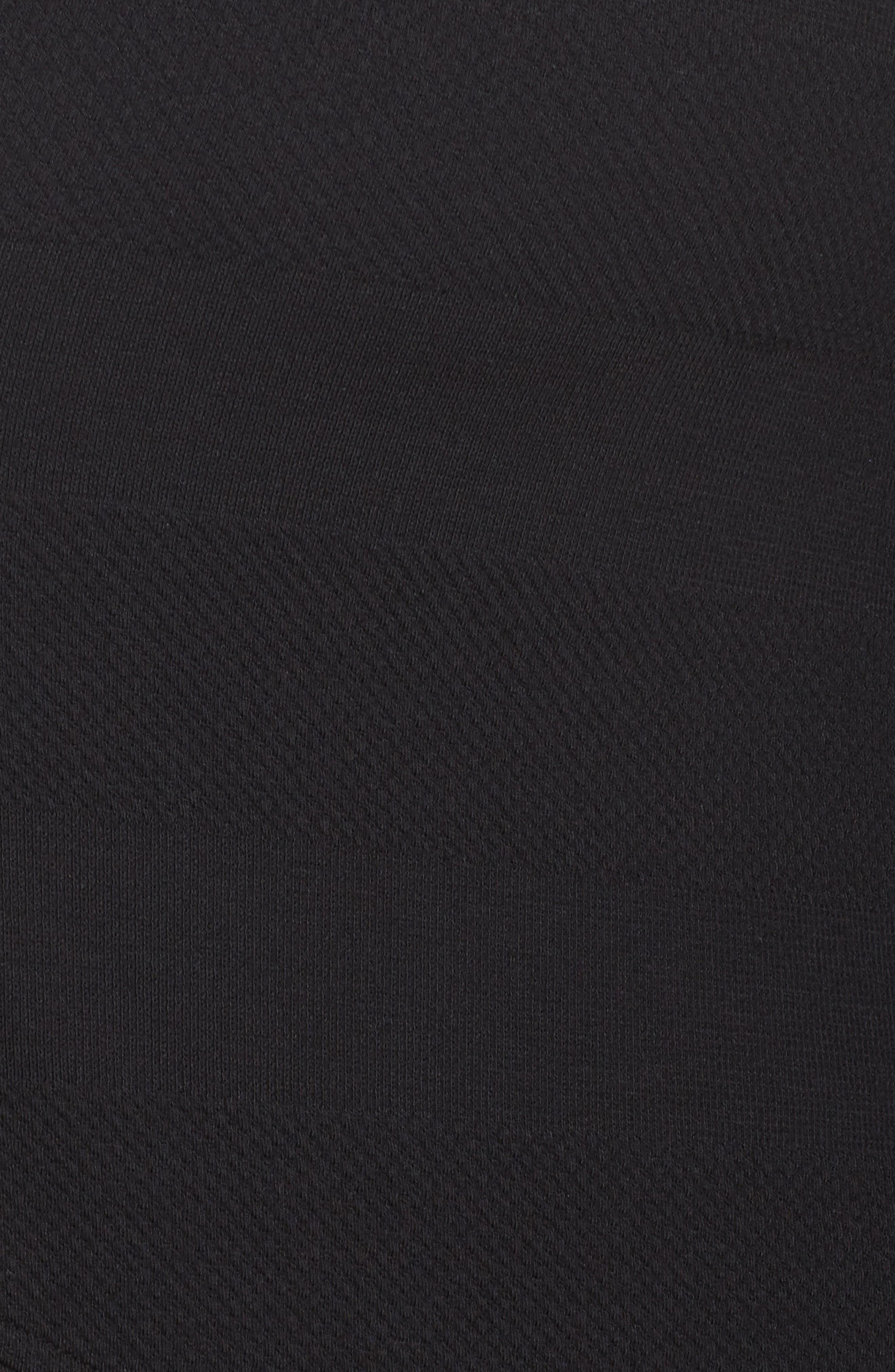Ria Hooded Cardigan,                             Alternate thumbnail 5, color,                             Black