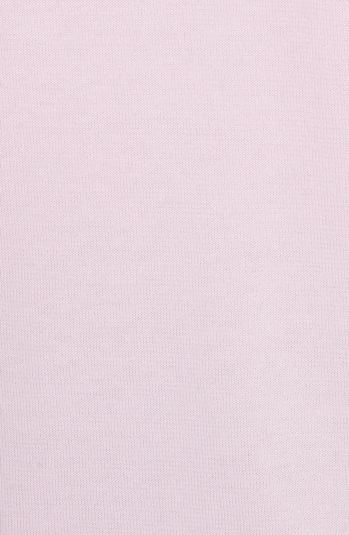 Crewneck Sweater,                             Alternate thumbnail 5, color,                             Pink