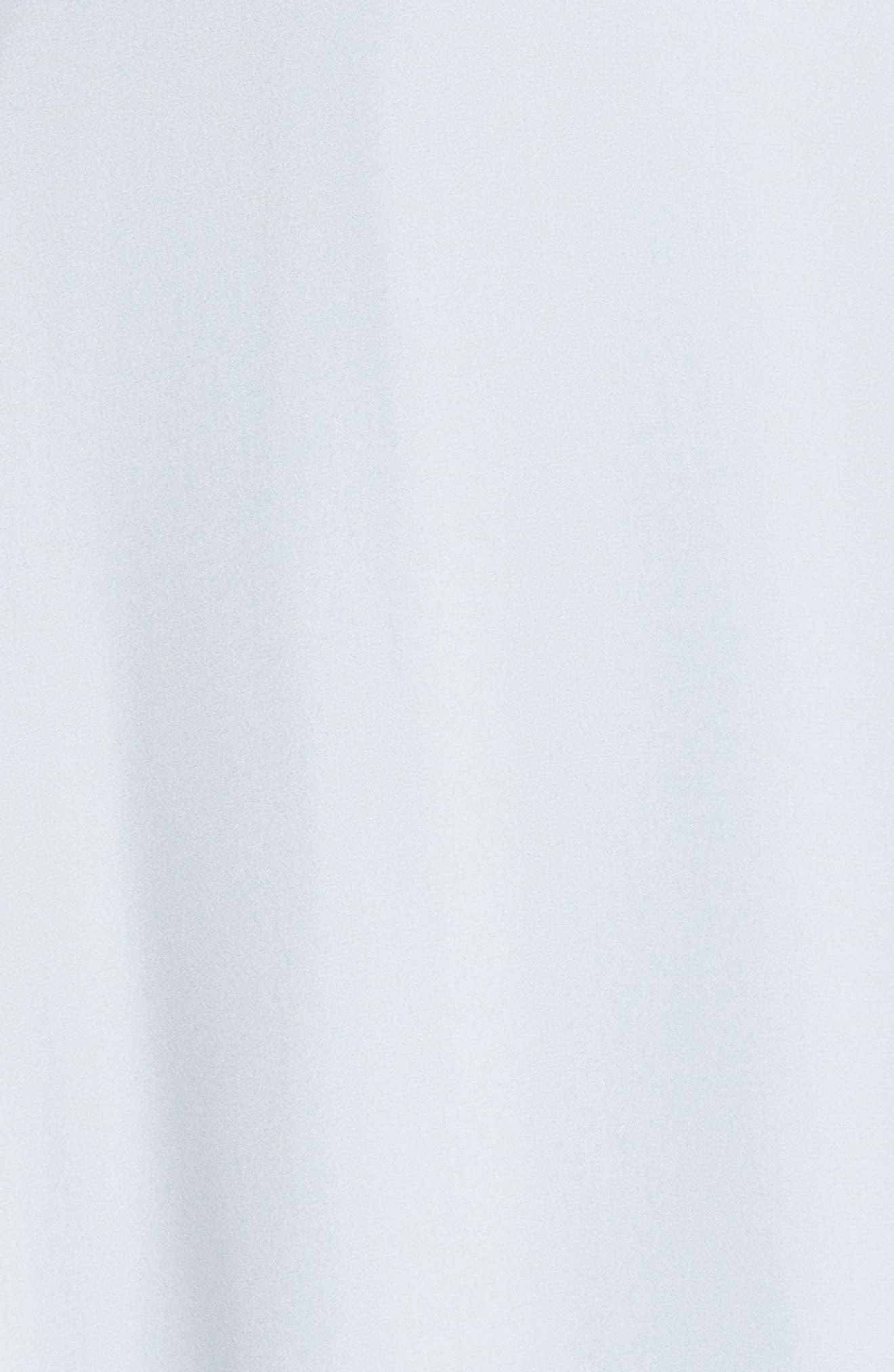 Jamie Ruffle Wrap Gown,                             Alternate thumbnail 5, color,                             Ocean Mist