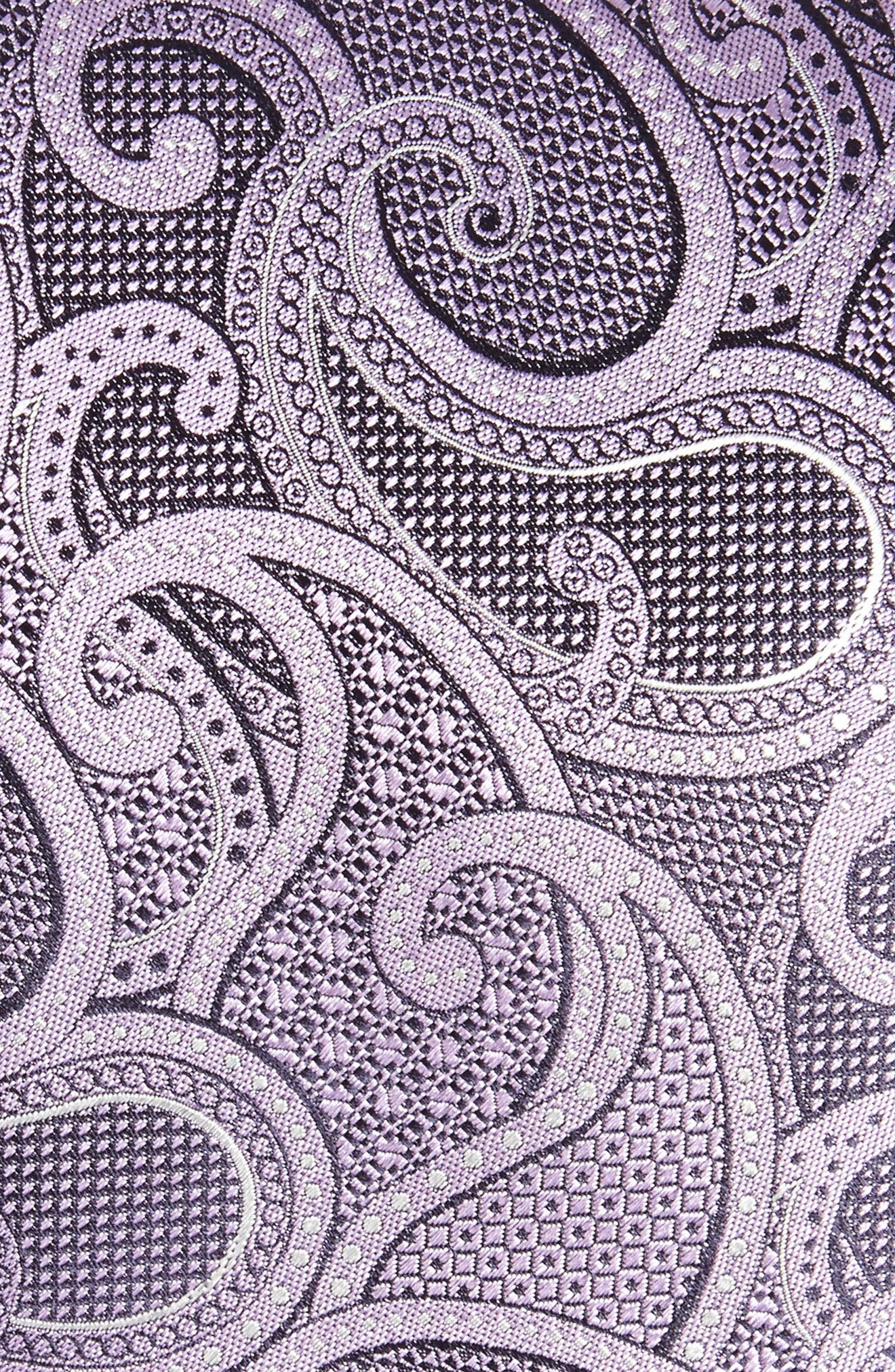 Alternate Image 2  - Canali Paisley Silk Tie (X-Long)