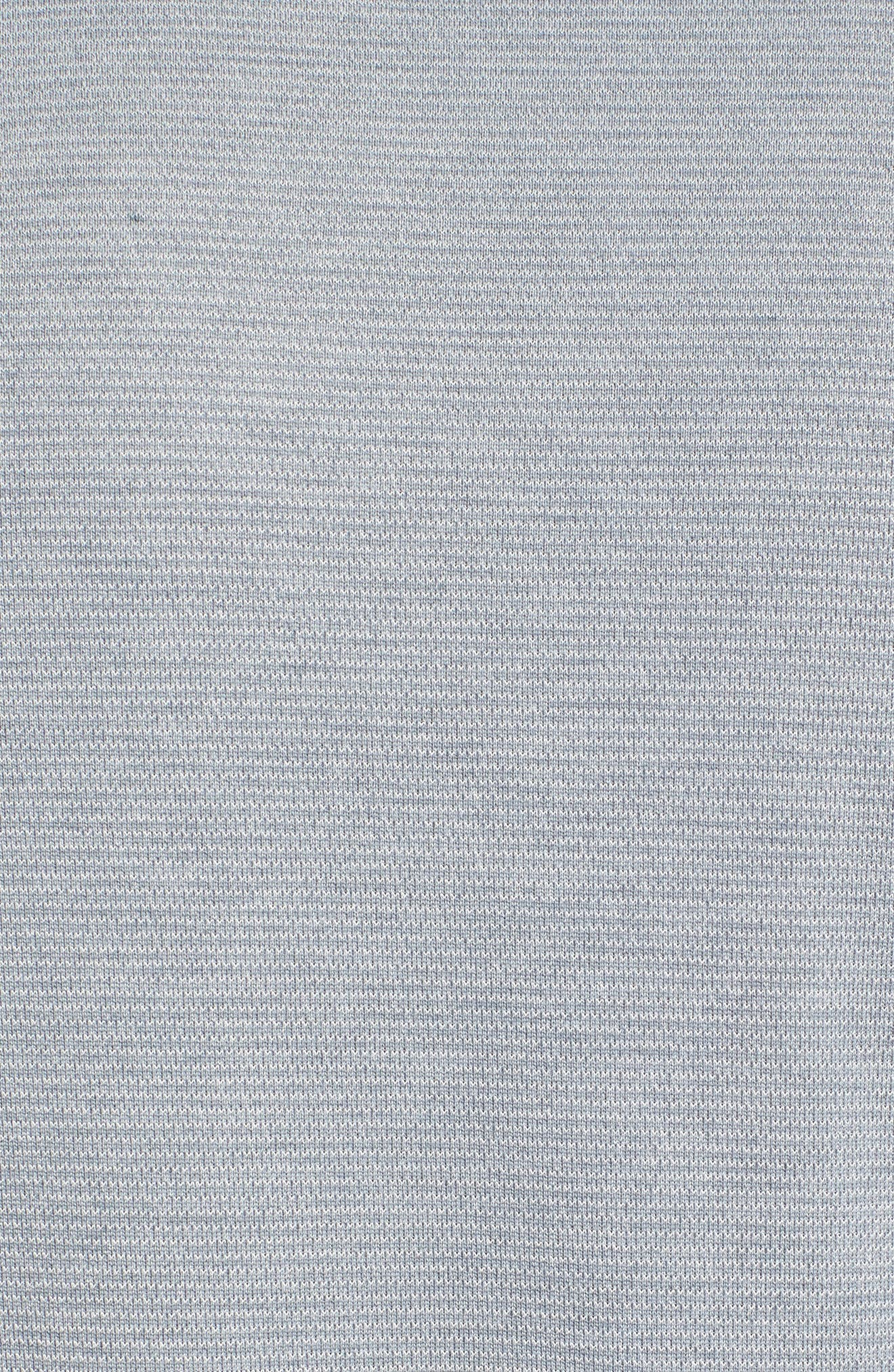 Threadborne Performance T-Shirt,                             Alternate thumbnail 5, color,                             True Grey Heather