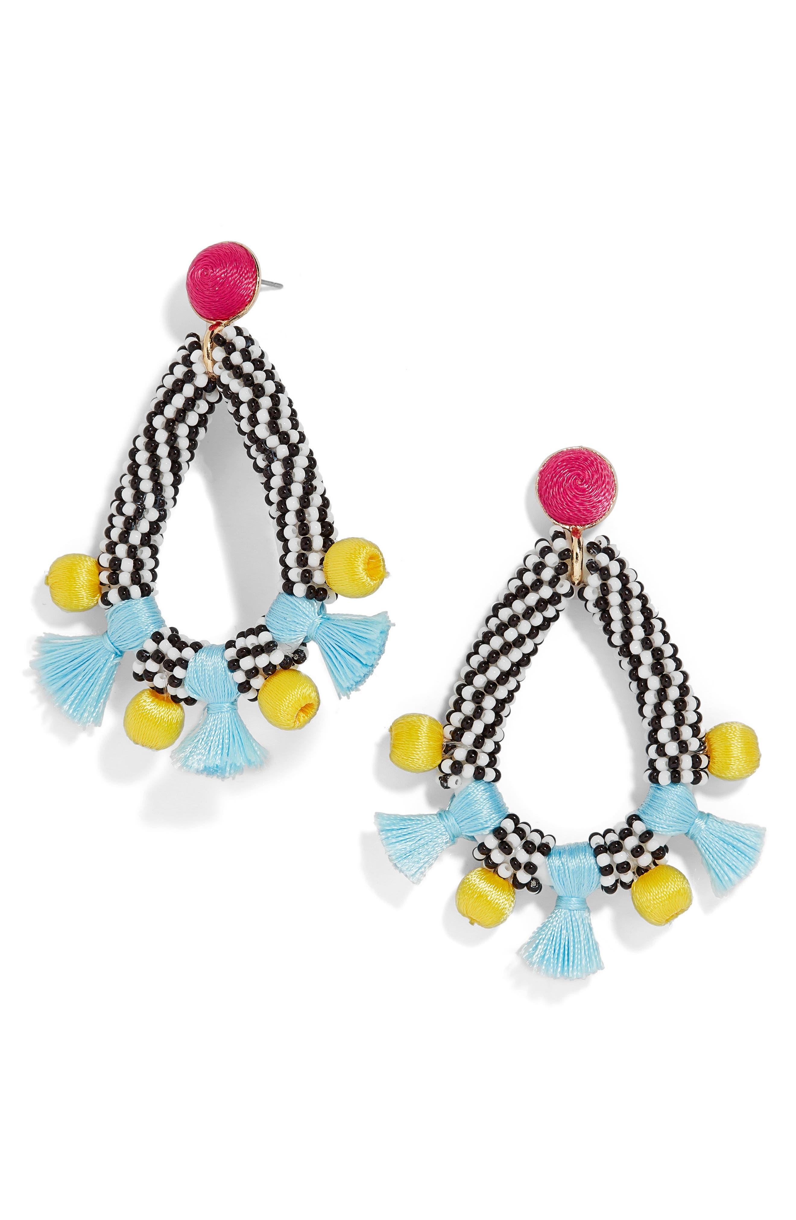 BaubleBar Coral Reef Drop Earrings
