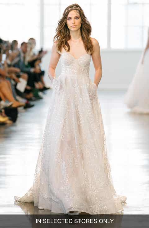 Women\'s BERTA Empire Waist Wedding Dresses & Bridal Gowns | Nordstrom