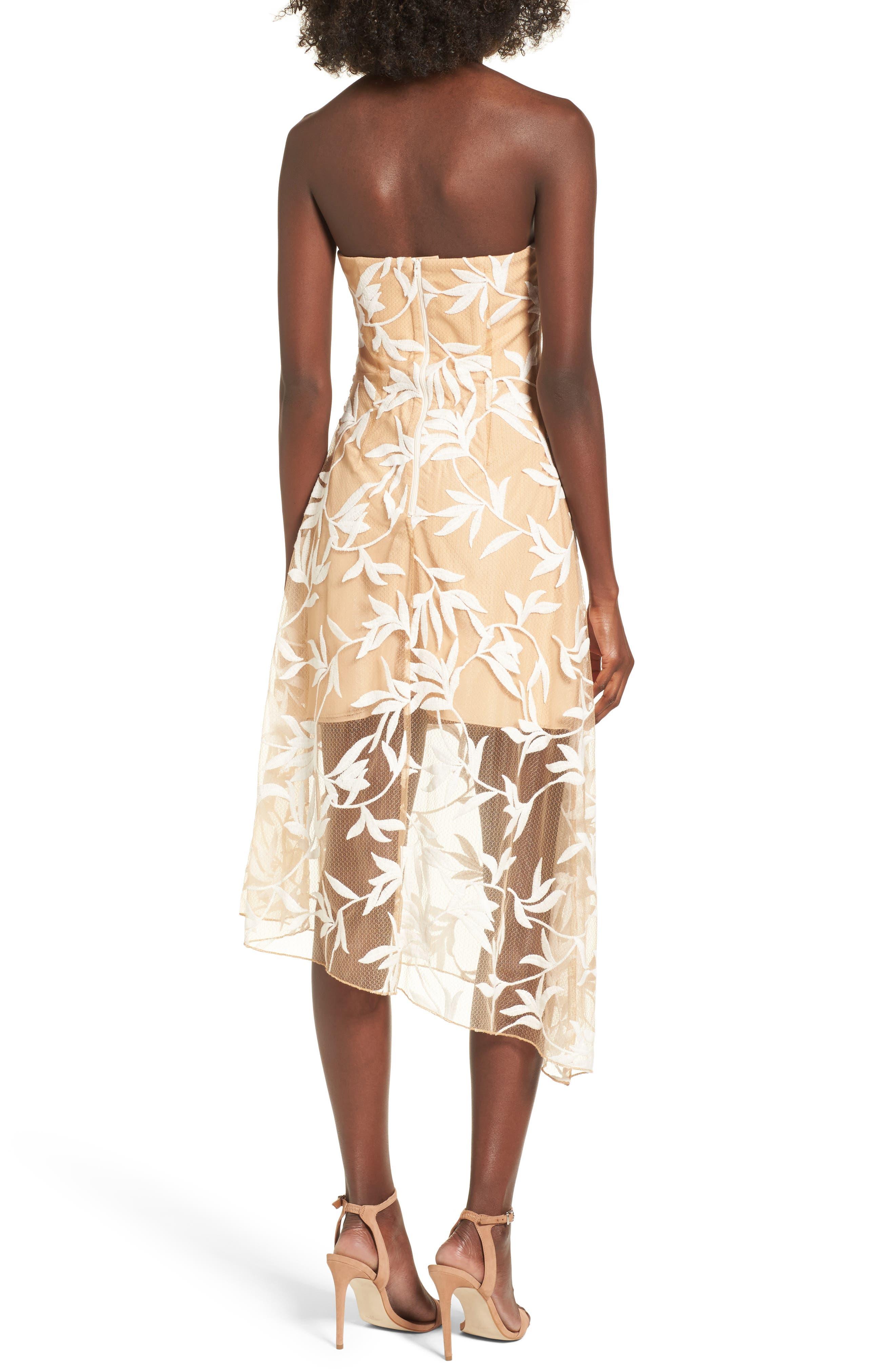 Alternate Image 2  - Keepsake the Label Fast Lanes Midi Dress
