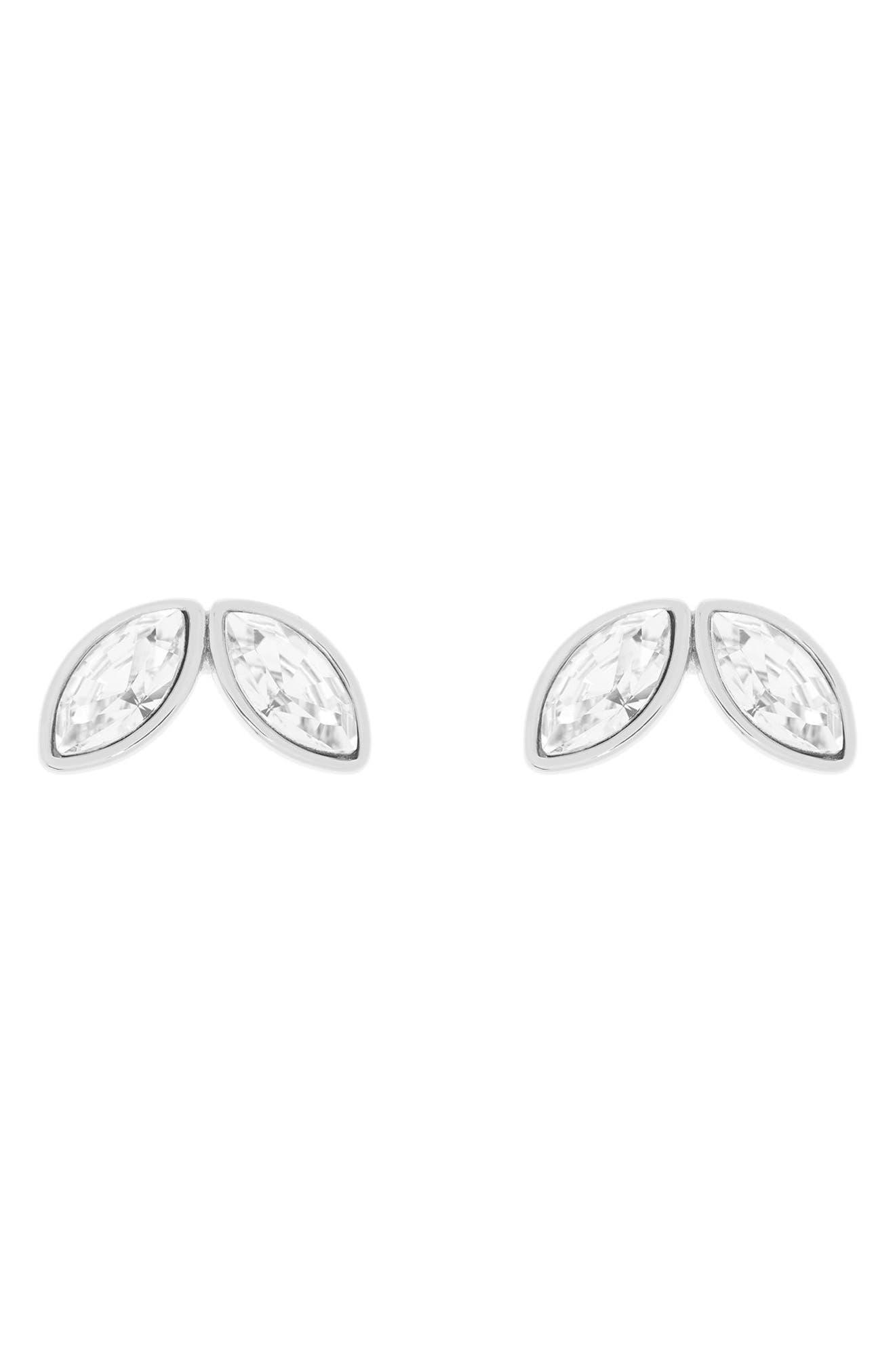 Alternate Image 2  - Ted Baker London Geometric Bee Stud Earrings
