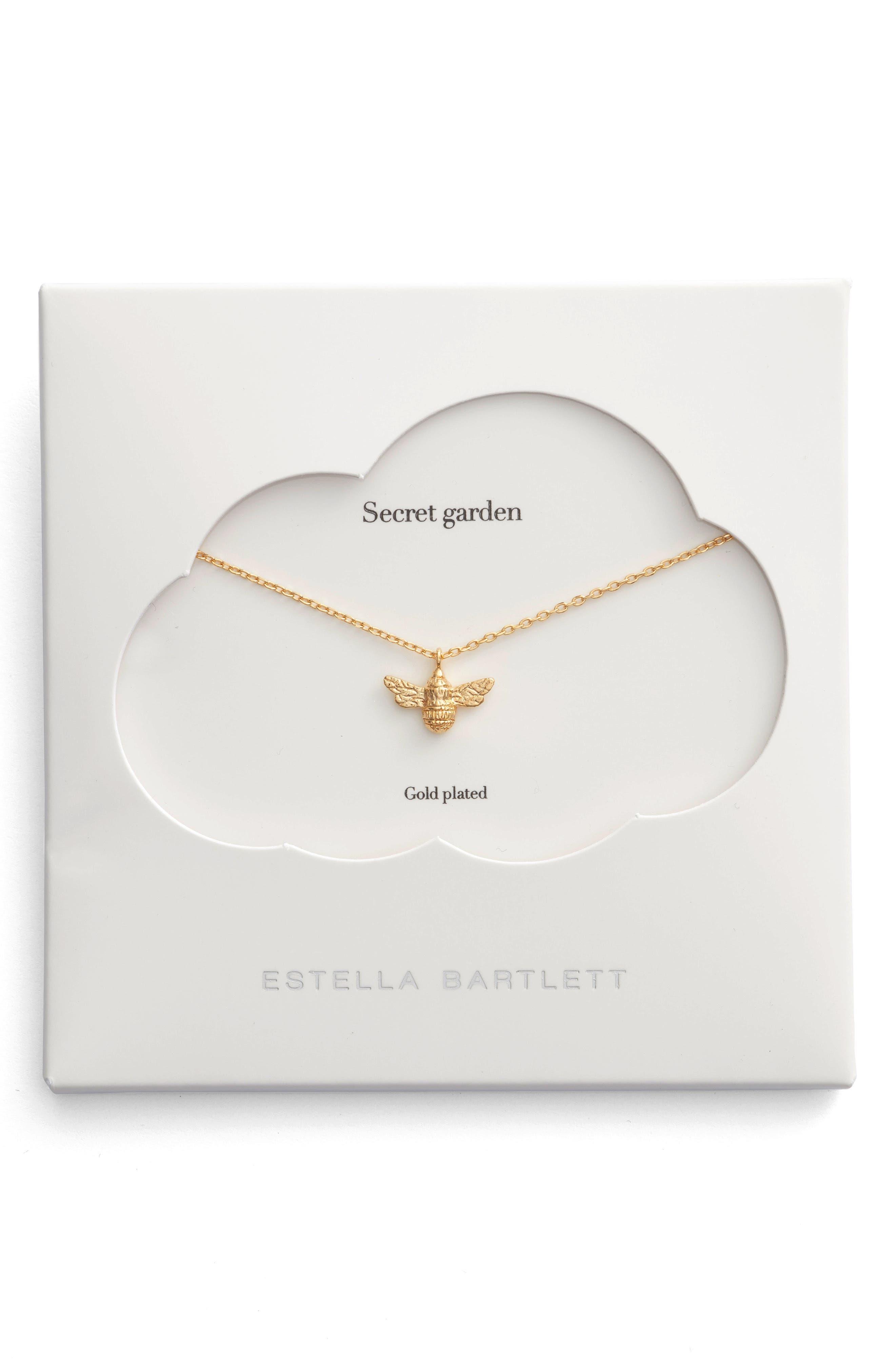 Main Image - Estella Bartlett Treasure Me Bee Necklace