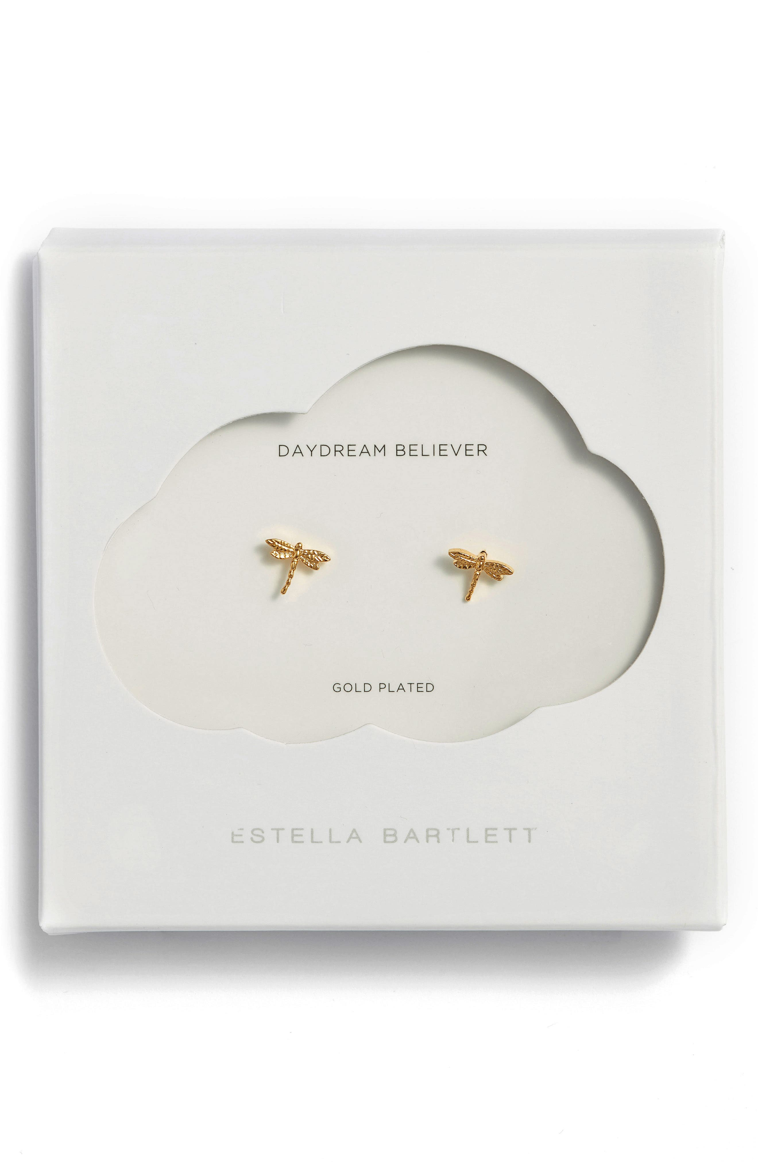 Main Image - Estella Bartlett Dragonfly Stud Earrings