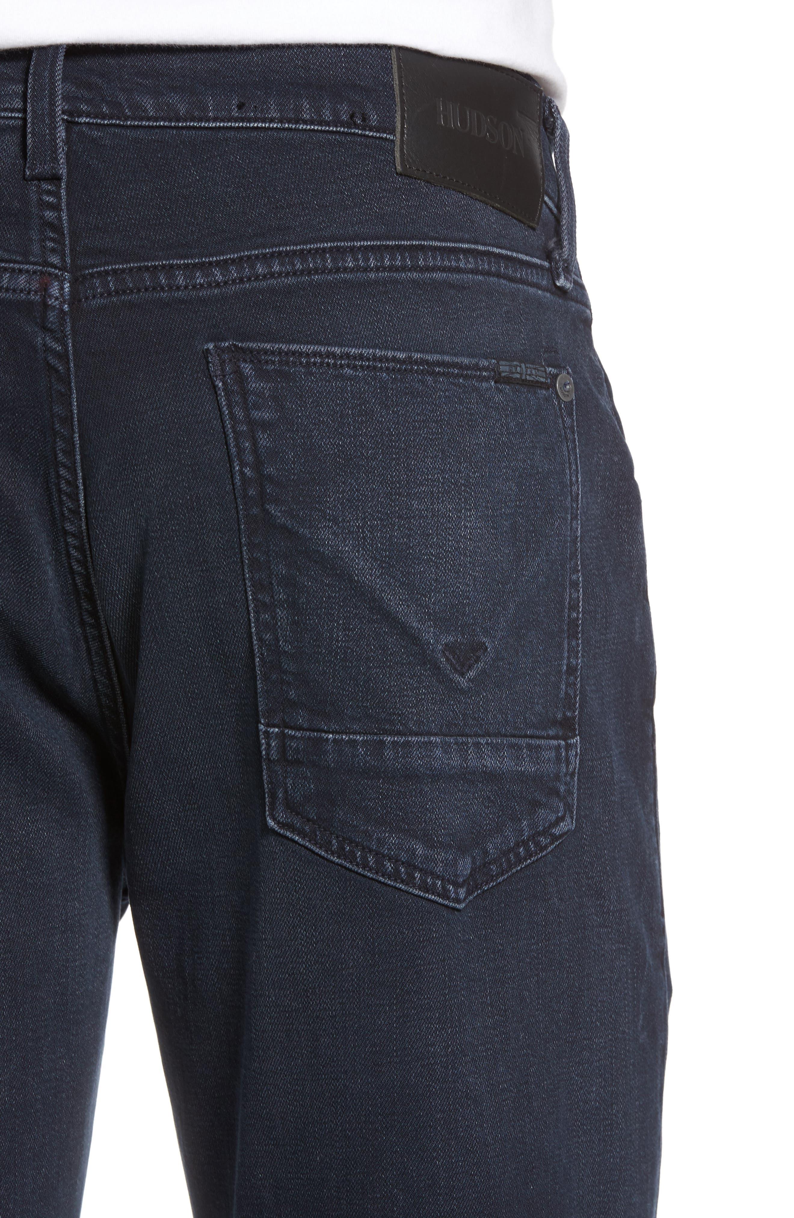Byron Slim Straight Leg Jeans,                             Alternate thumbnail 4, color,                             Threaten