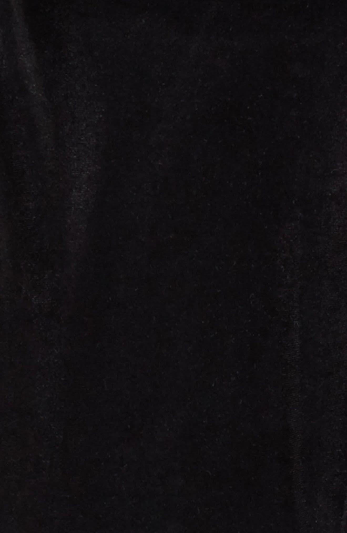 Alternate Image 2  - BLANKNYC Velvet Leggings (Big Girls)
