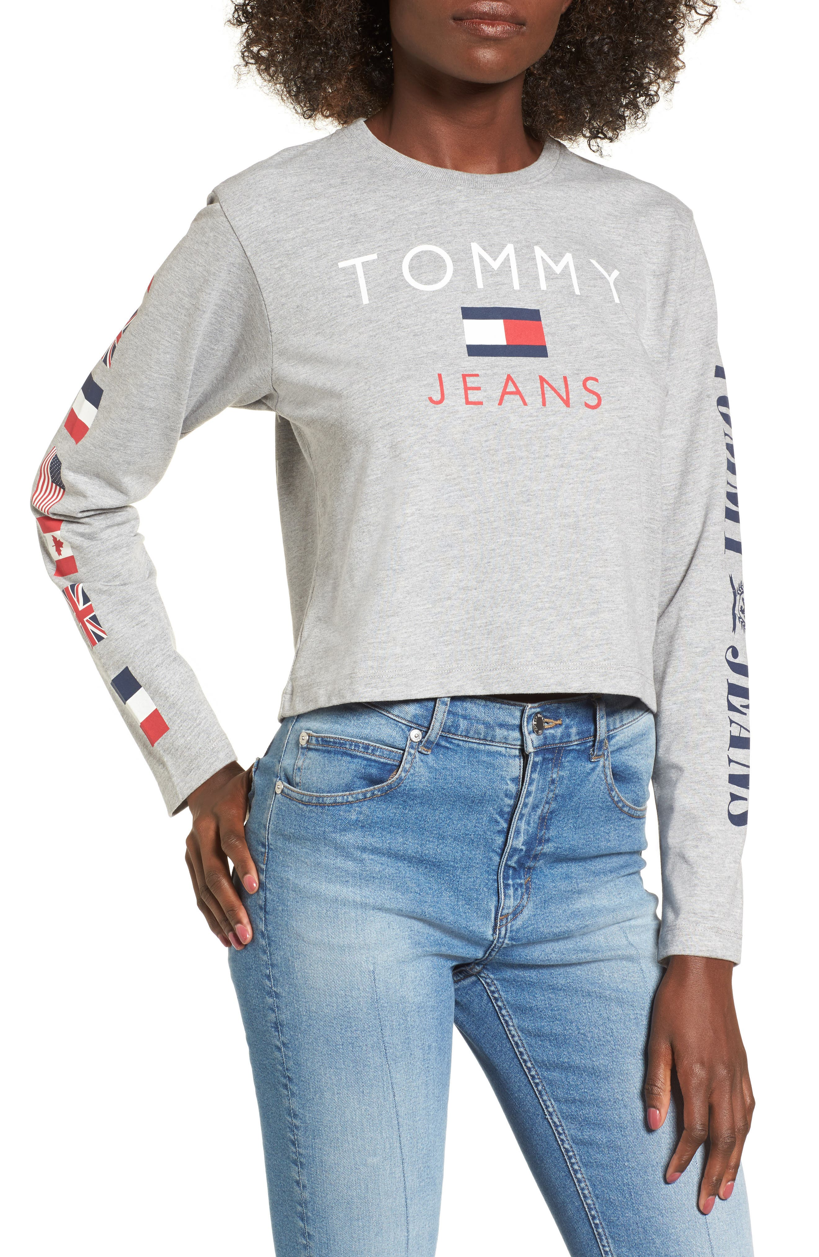 Main Image - TOMMY JEANS '90s Logo Tee