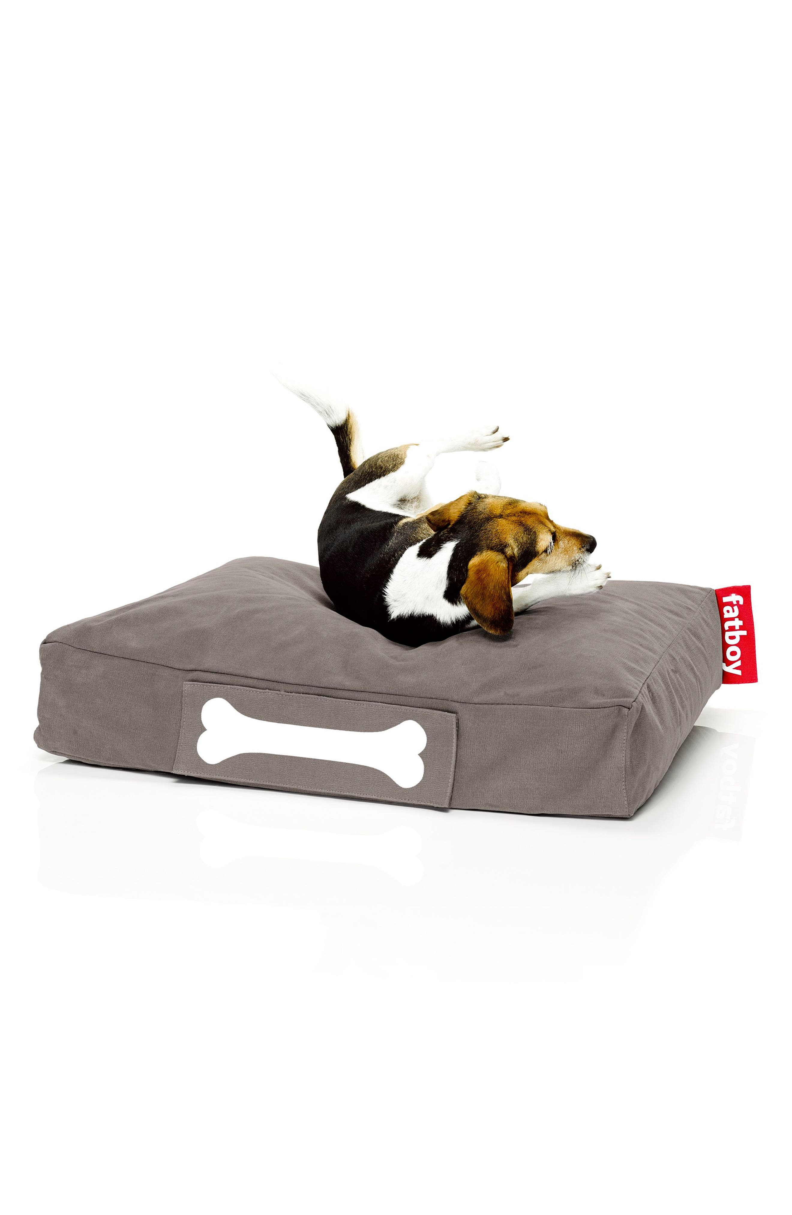 Doggielounge - Stonewashed Pet Bed,                             Alternate thumbnail 2, color,                             Taupe