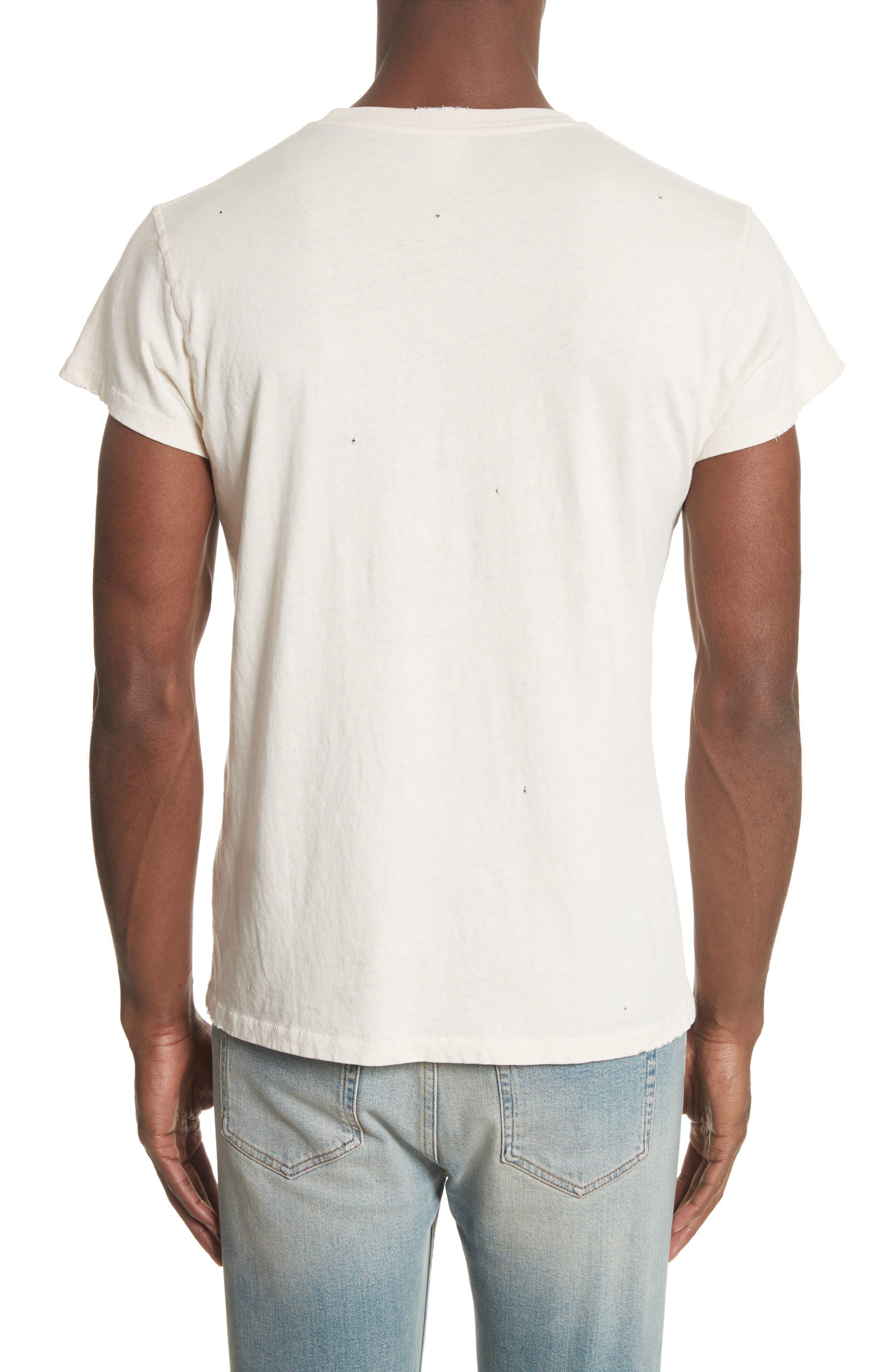 Grateful Dead Skeleton Graphic T-Shirt,                             Alternate thumbnail 2, color,                             Dirty White